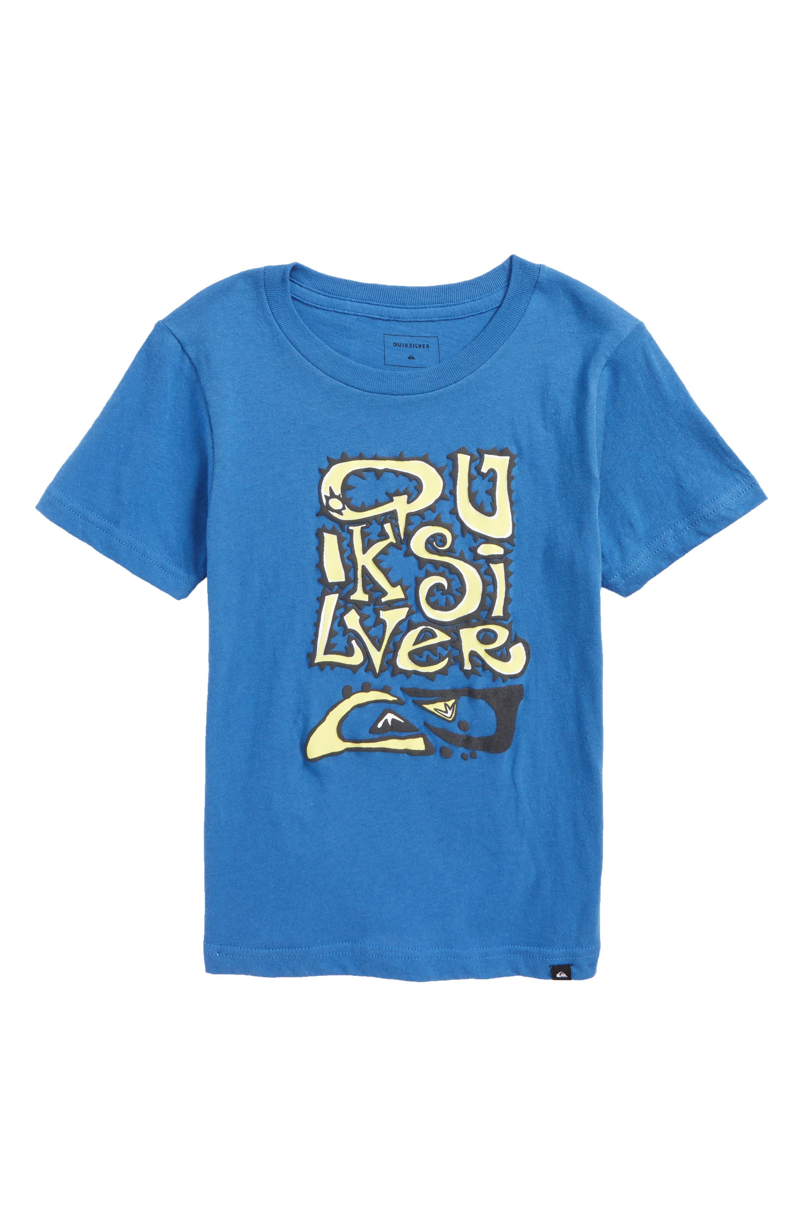 Main Image - Quiksilver Wauke Graphic T-Shirt (Toddler Boys & Little Boys)