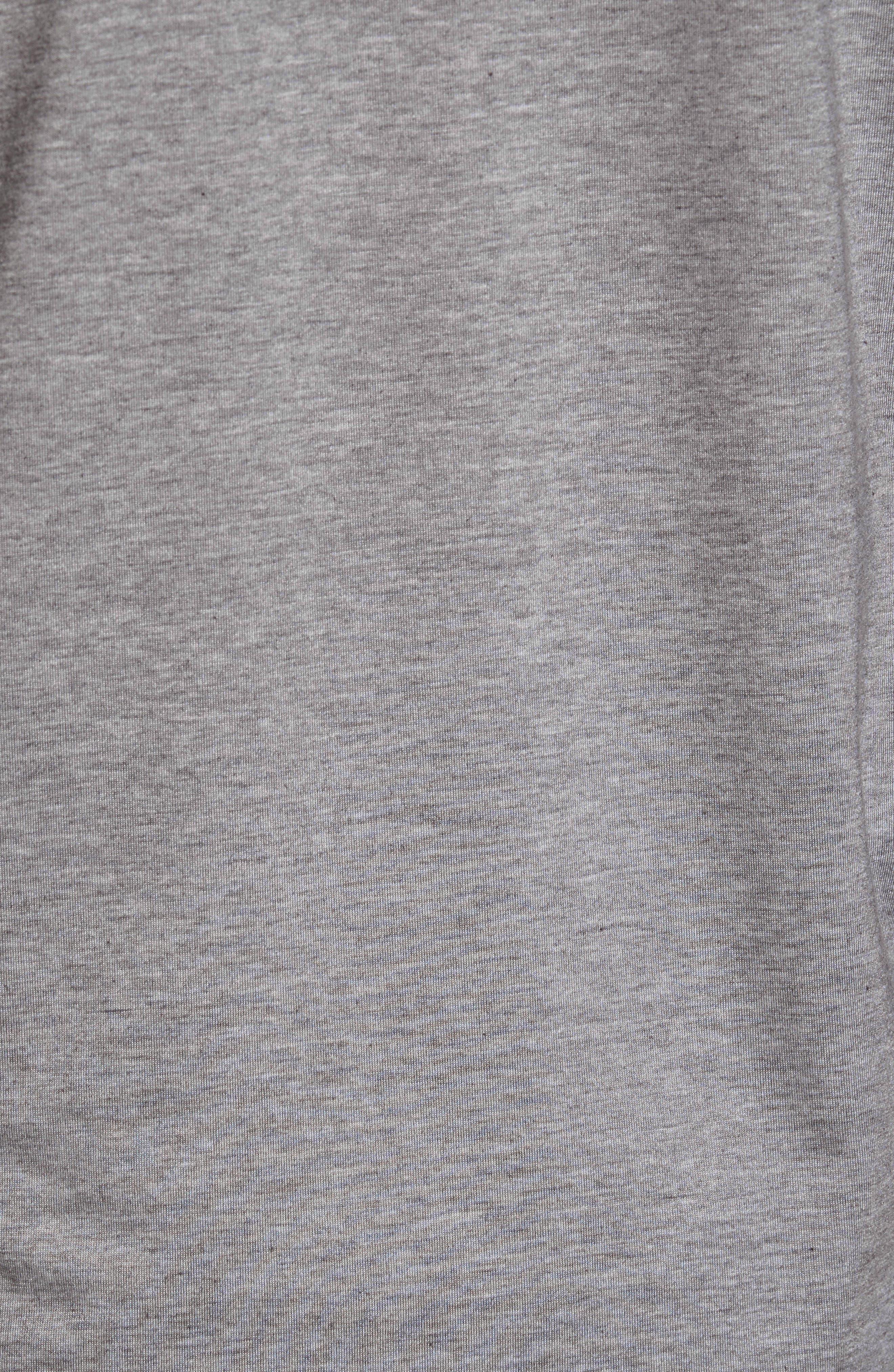 Yantra Long Sleeve T-Shirt,                             Alternate thumbnail 9, color,                             Heather Grey/ Heather Grey