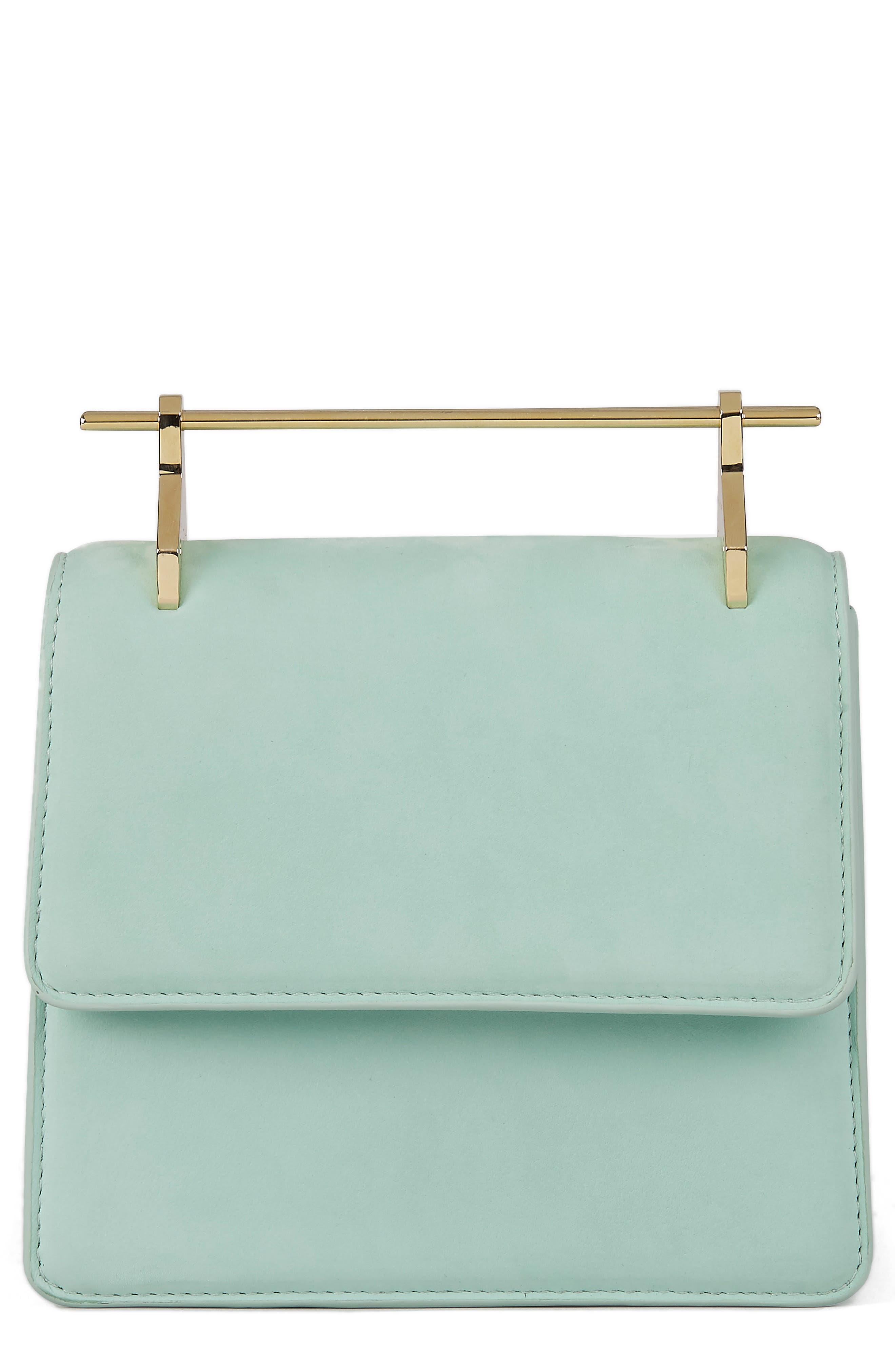Mini La Collectionneuse Nubuck Crossbody Bag by M2 Malletier