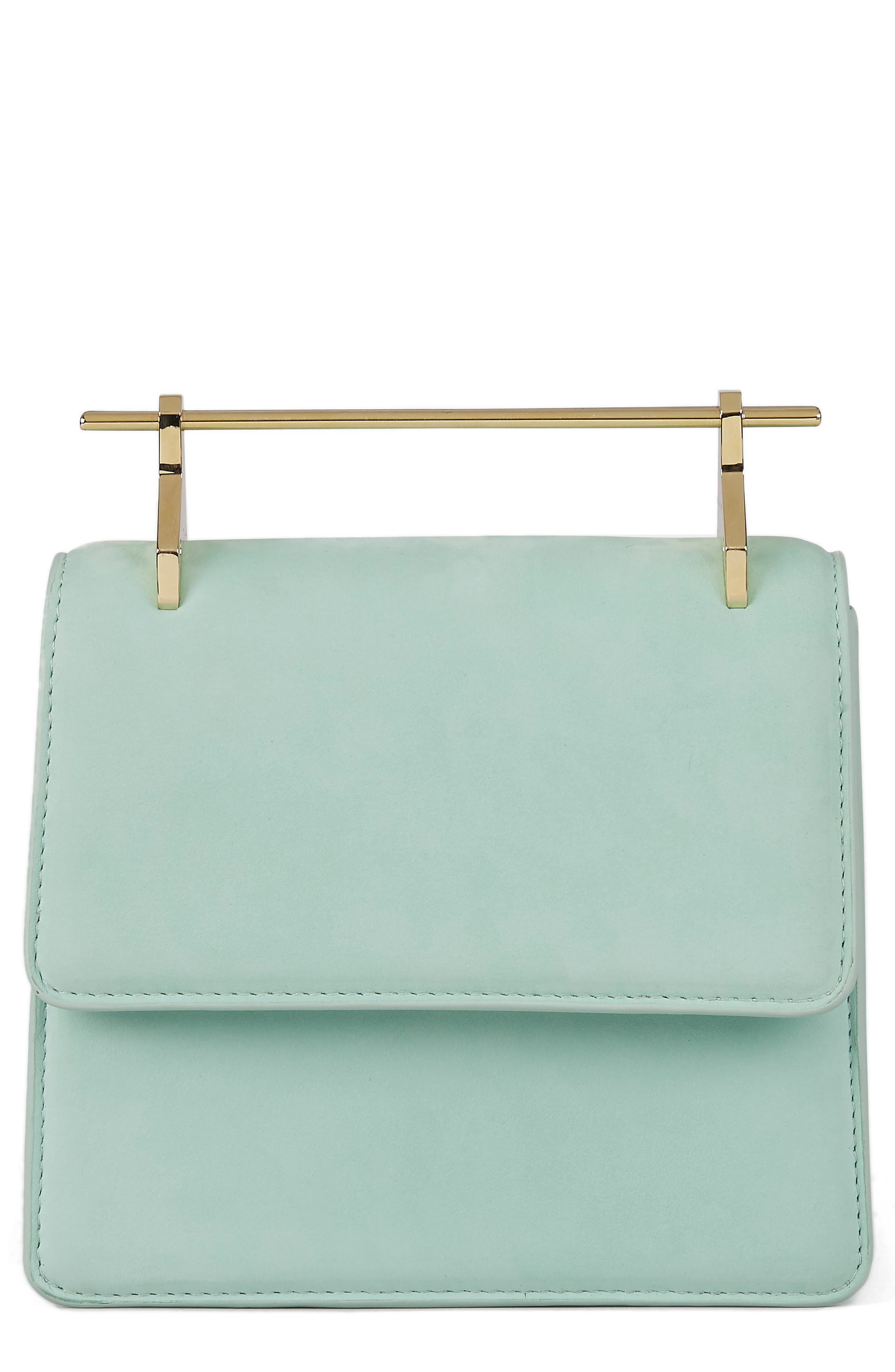 M2Malletier Mini La Collectionneuse Nubuck Crossbody Bag
