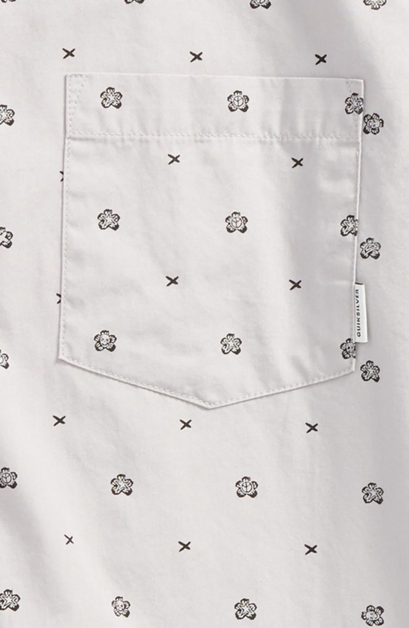 Kamanoa Woven Shirt,                             Alternate thumbnail 2, color,                             Silver Sconce