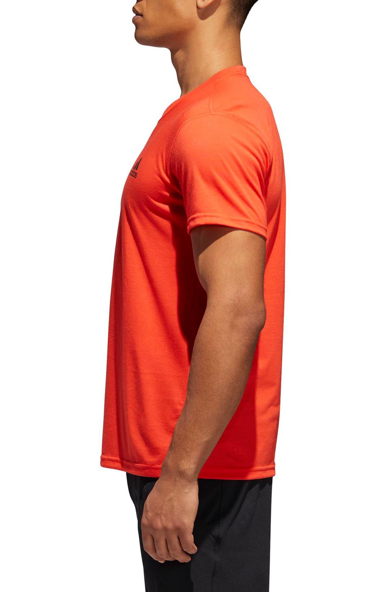 Ultimate T-Shirt,                             Alternate thumbnail 3, color,                             Hi-Res Red