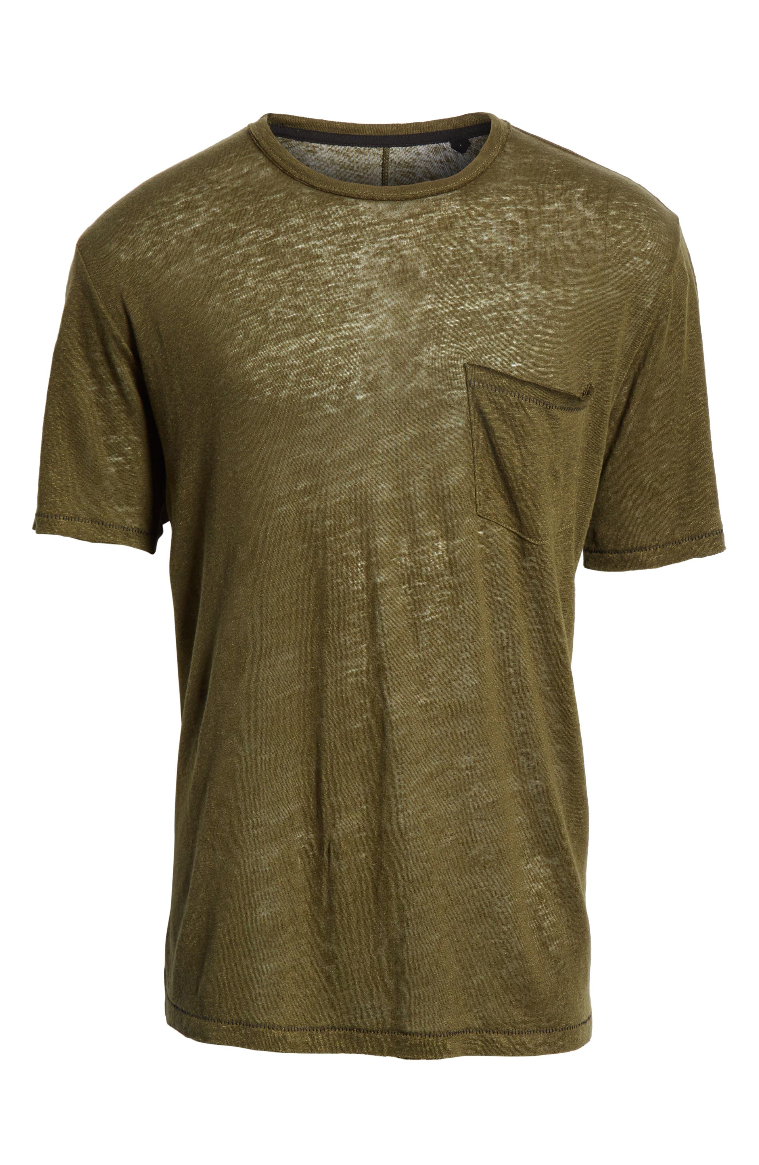 Owen T-Shirt,                             Alternate thumbnail 6, color,                             Army