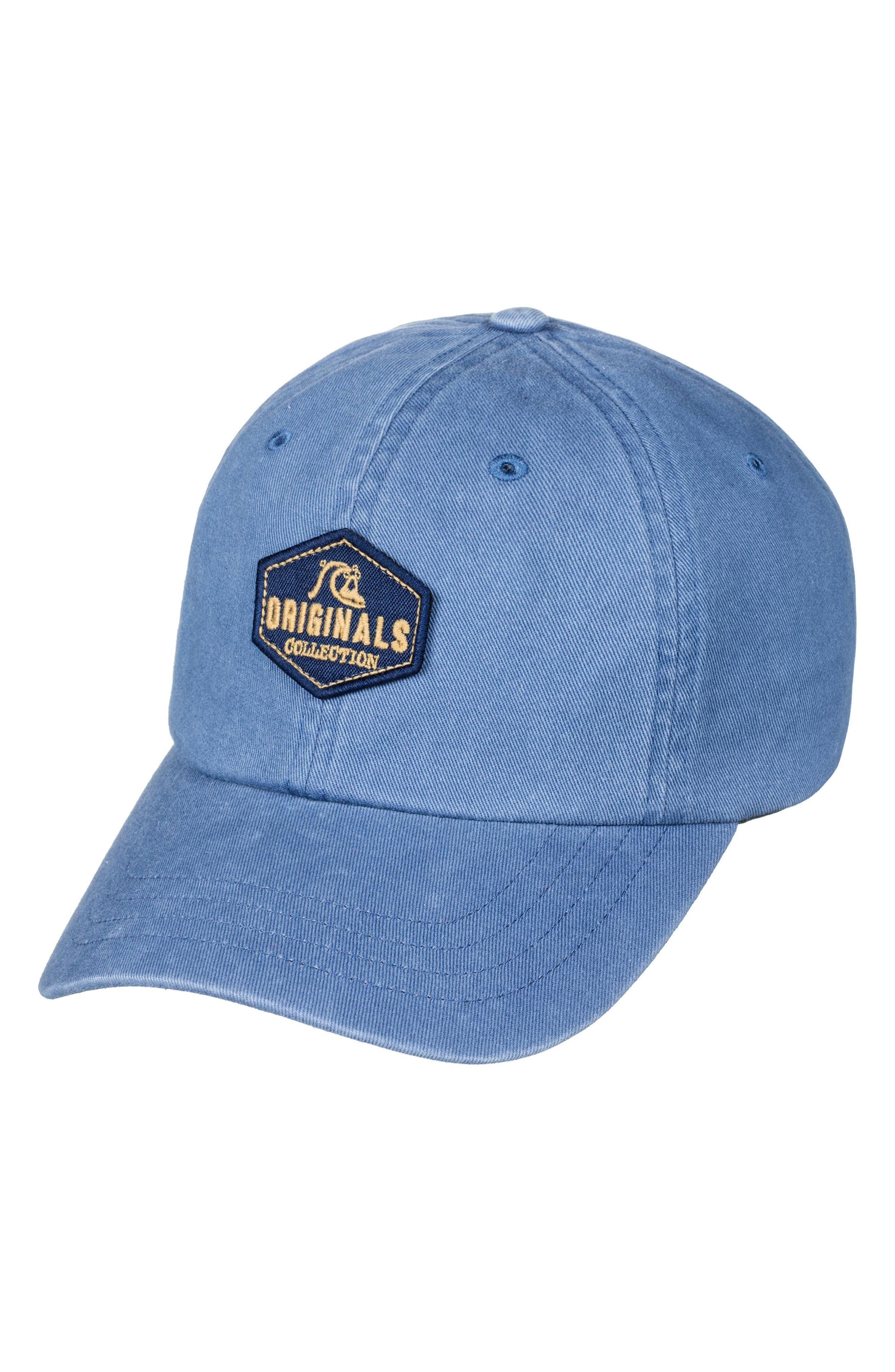 Boozie Adjustable Denim Cap,                         Main,                         color, Vintage Indigo