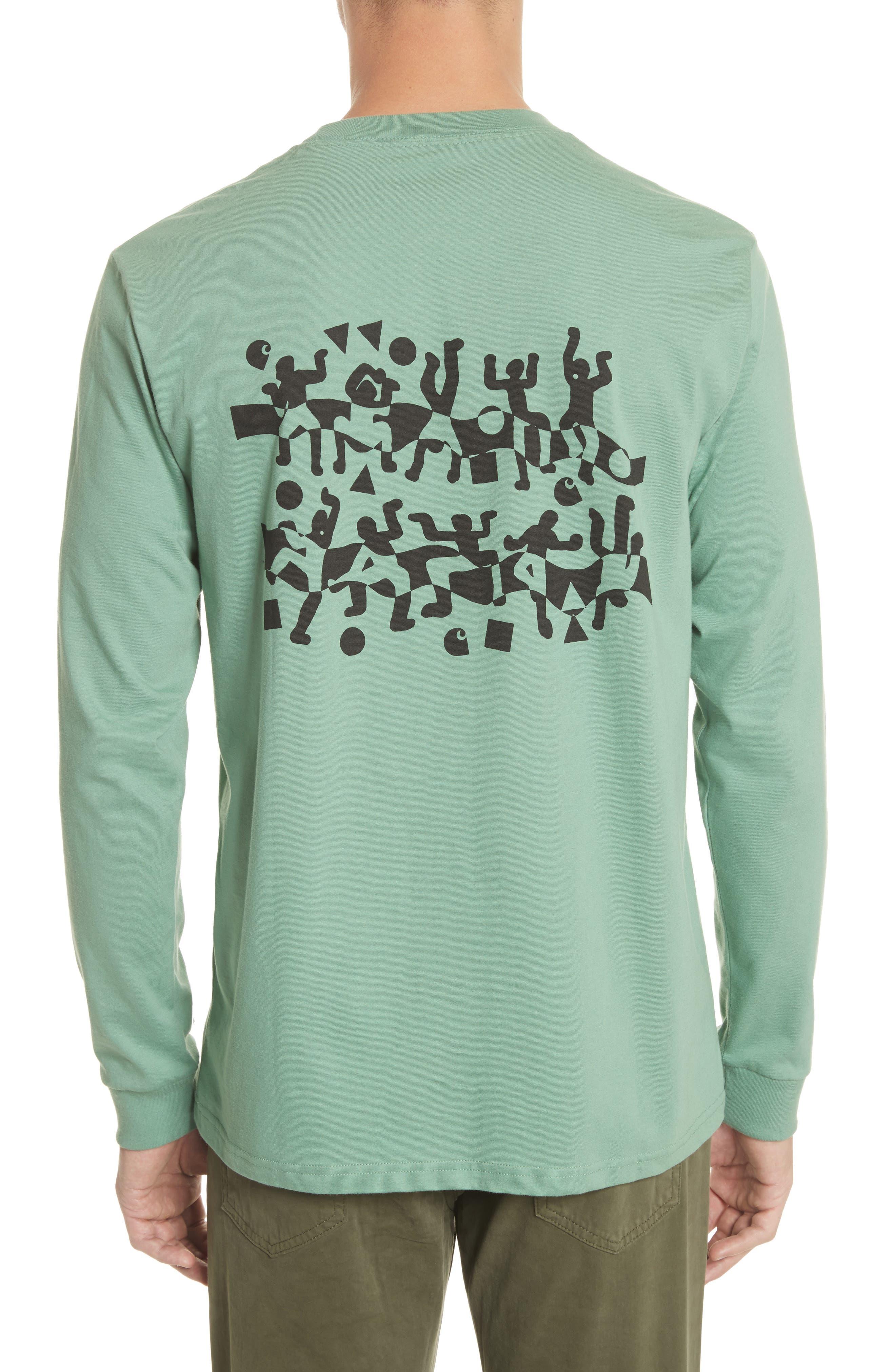 World Party T-Shirt,                             Alternate thumbnail 2, color,                             Catnip/Black