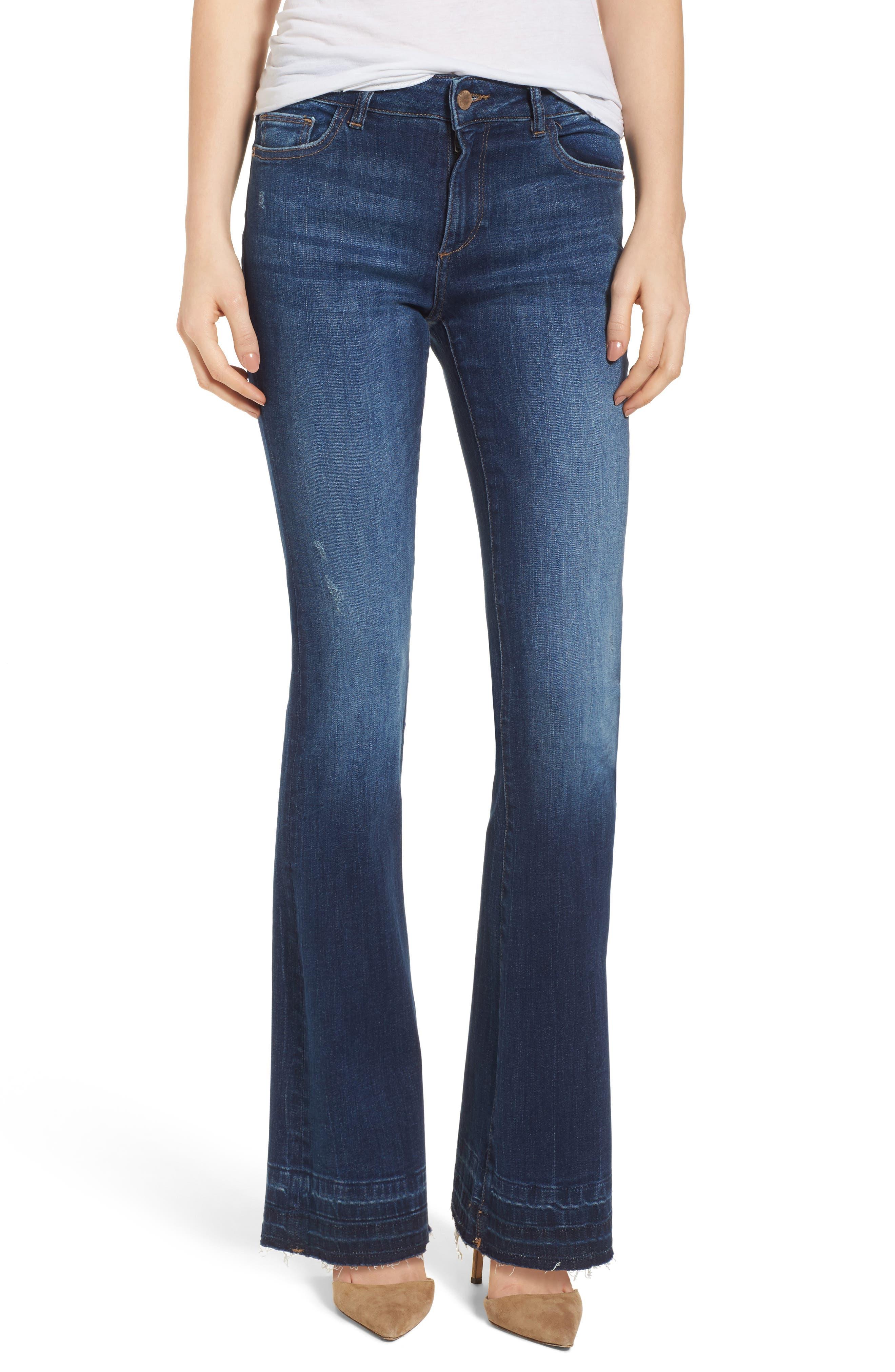 DL1961 Bridget Instasculpt Bootcut Jeans (Riverdale)