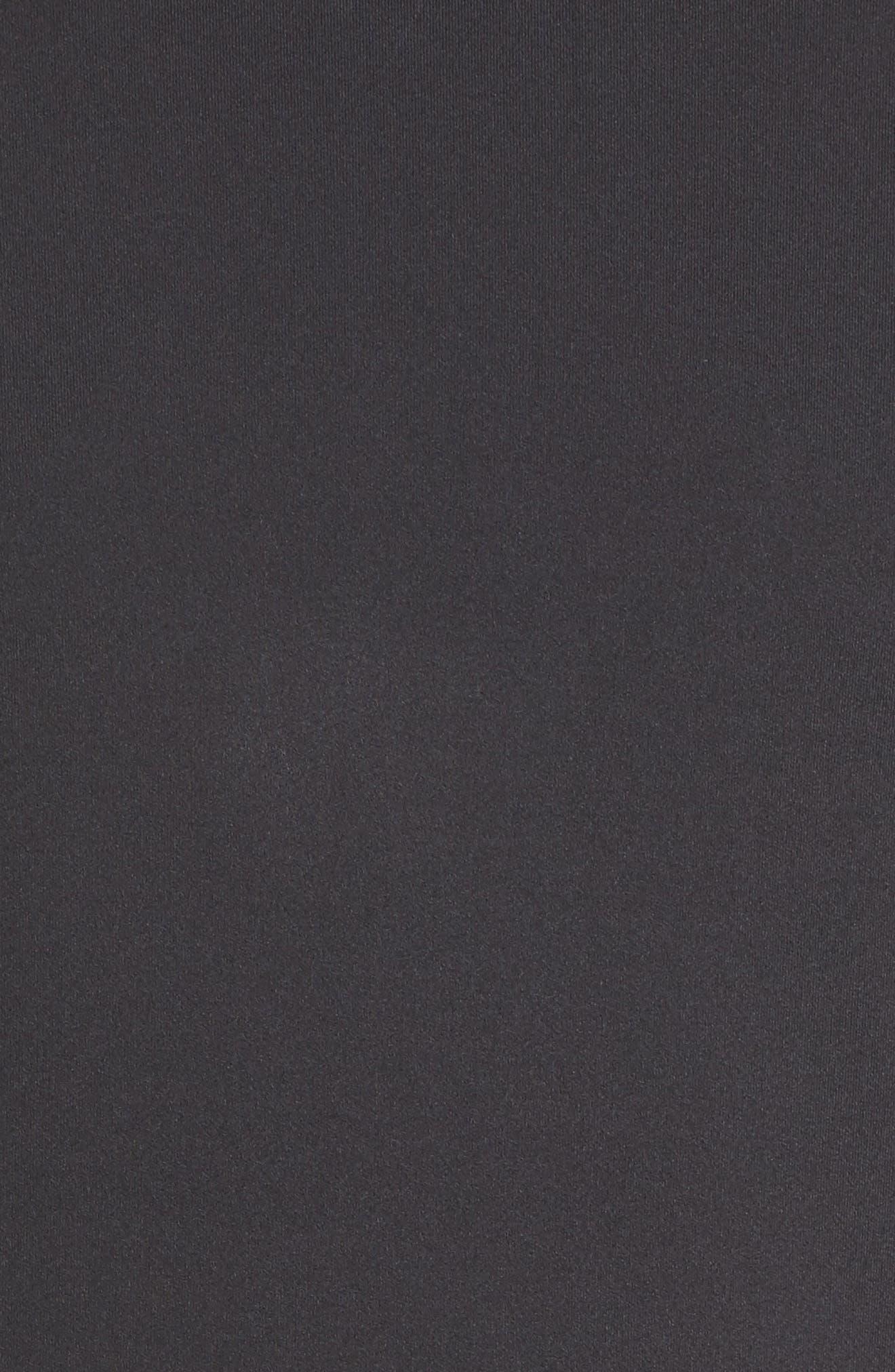 flora laser cut jacket,                             Alternate thumbnail 6, color,                             Black