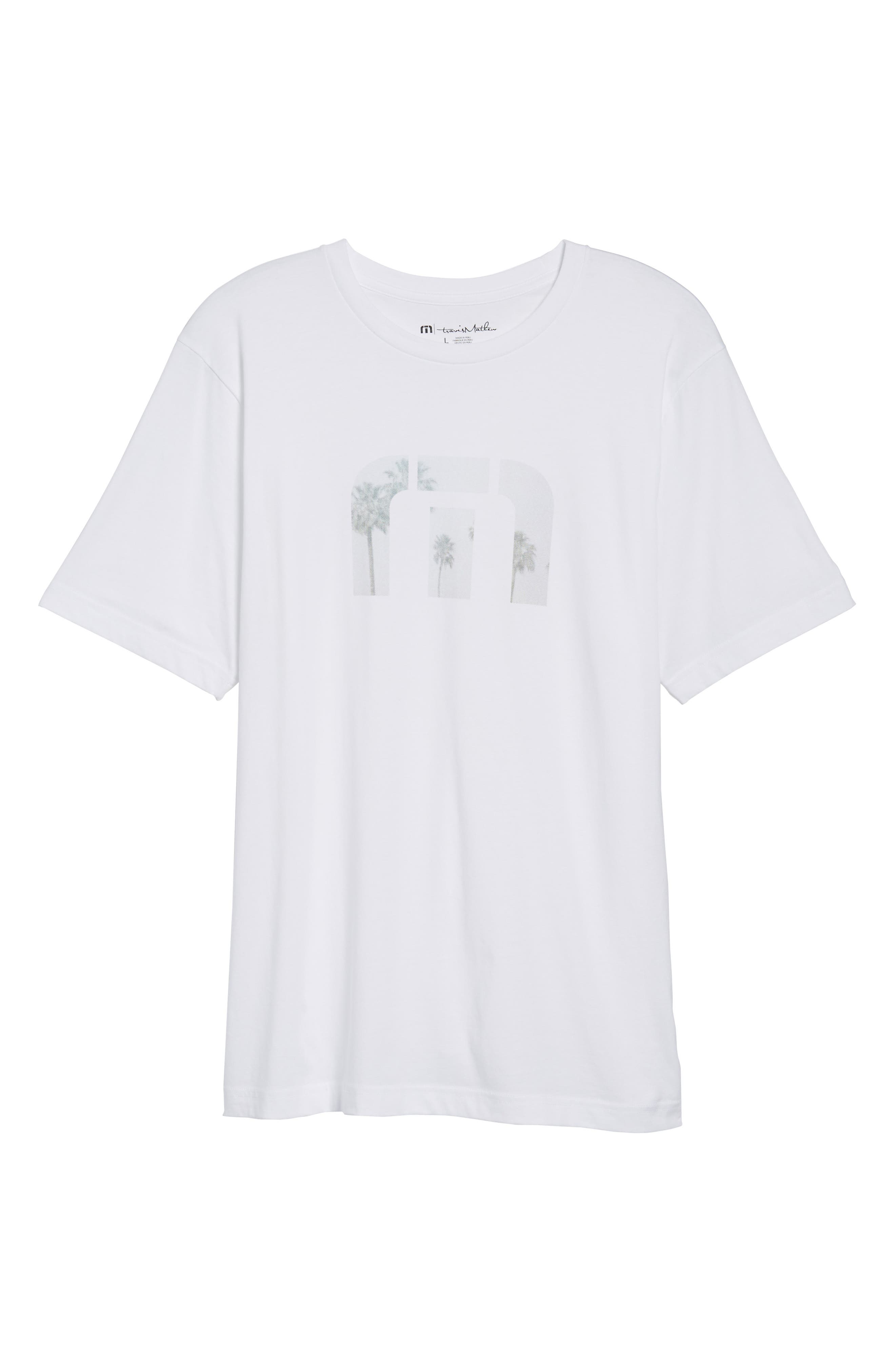 Windy Vibes Graphic T-Shirt,                             Alternate thumbnail 6, color,                             White