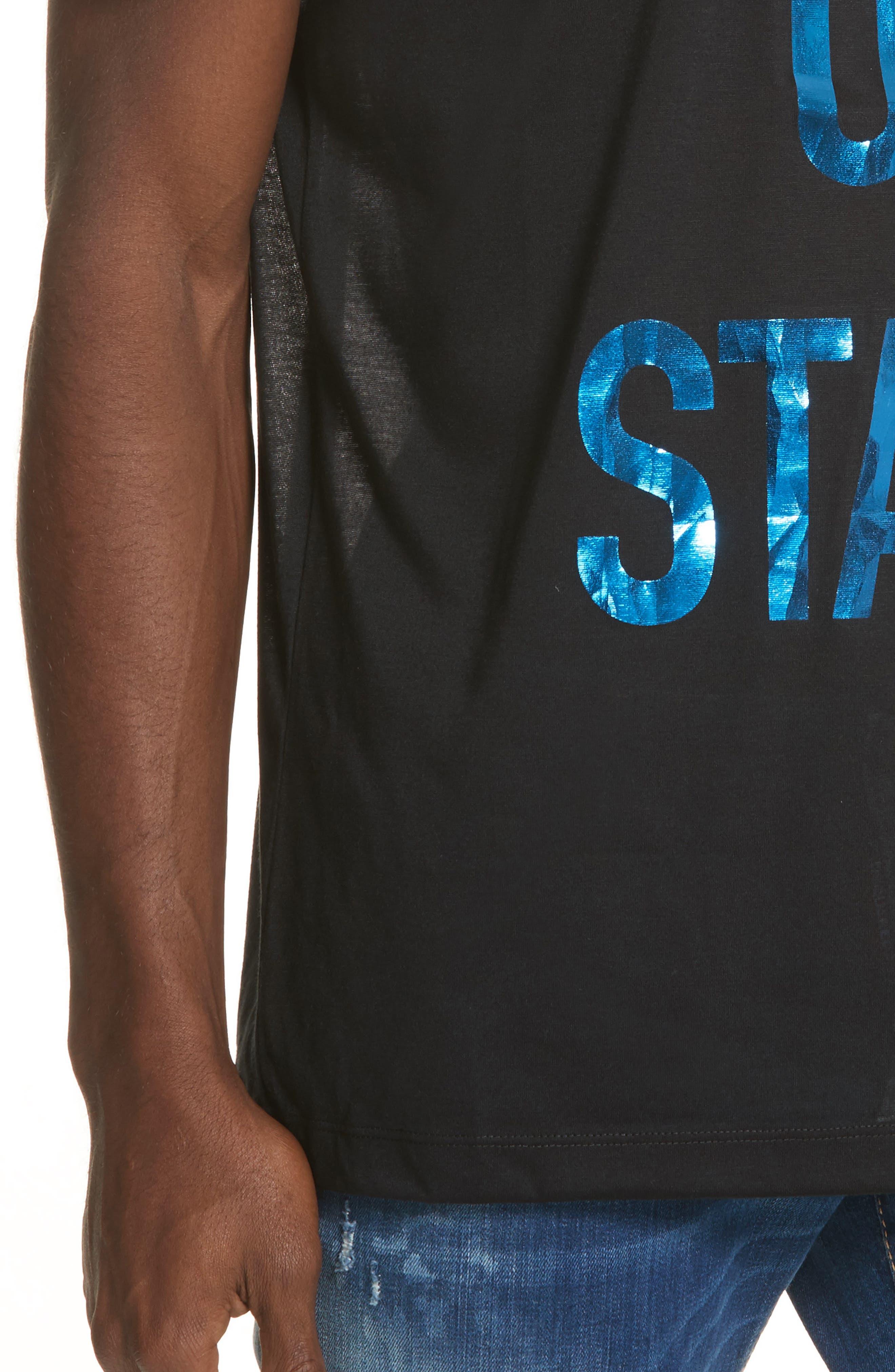 City of Stars Graphic T-Shirt,                             Alternate thumbnail 4, color,                             Black