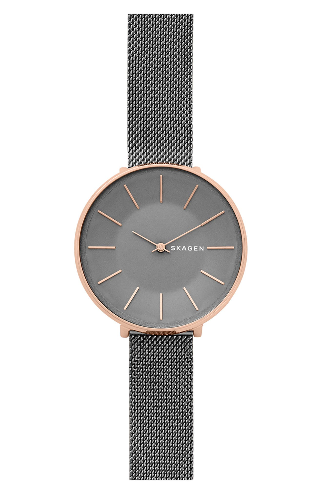 Skagen Karolina Mesh Strap Watch, 38mm