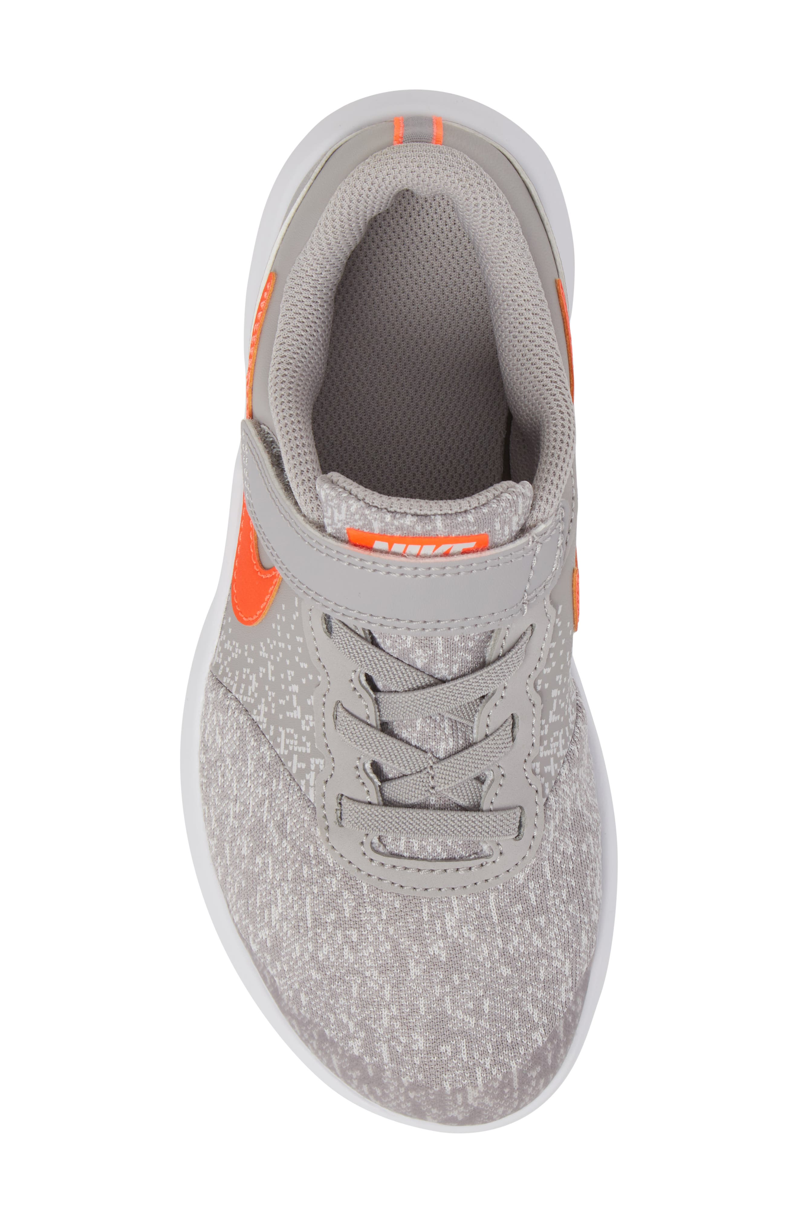 Flex Contact Running Shoe,                             Alternate thumbnail 6, color,                             Atmosphere Grey/ Total Crimson