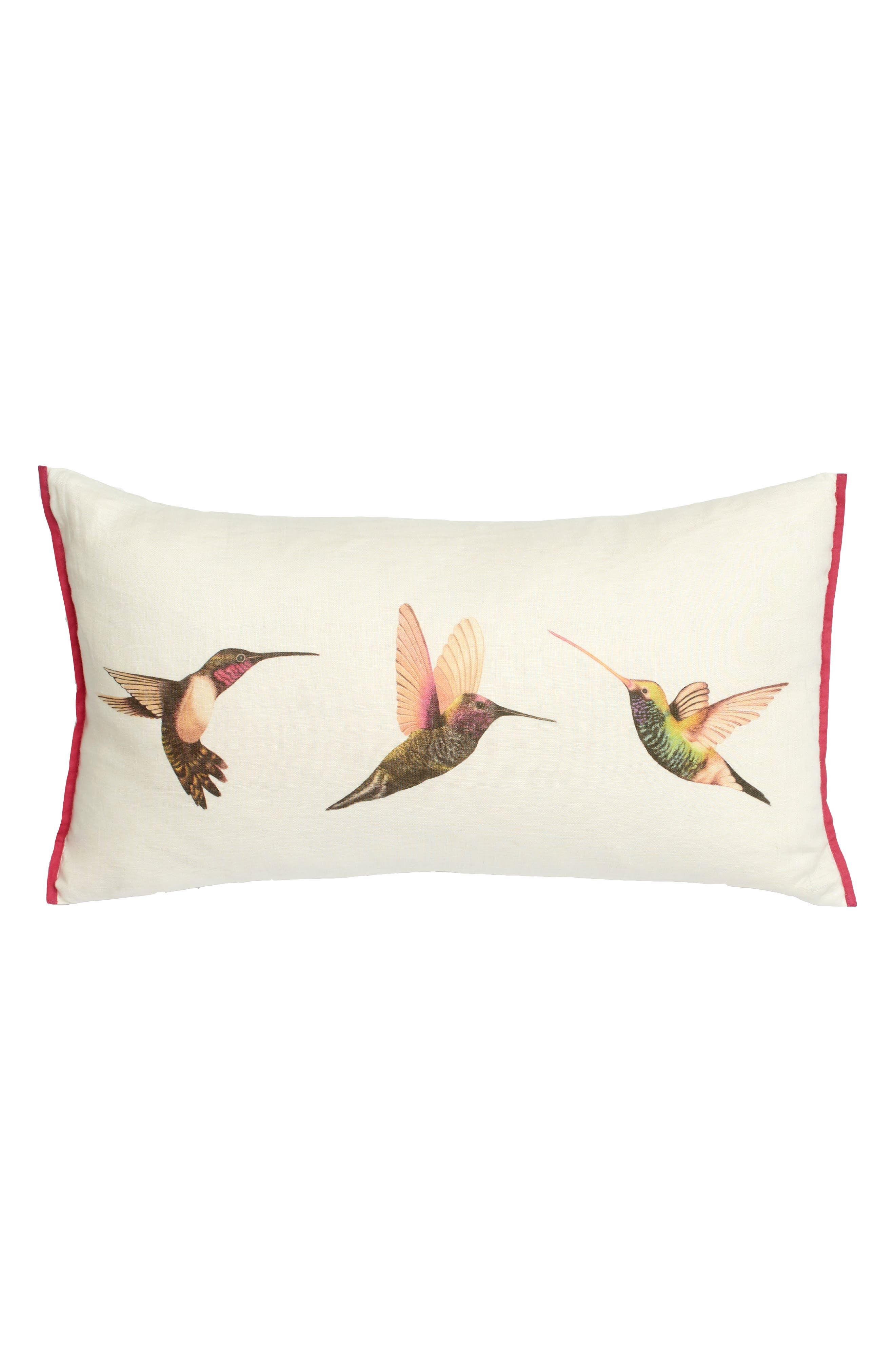 Paradise Accent Pillow,                         Main,                         color, Pink