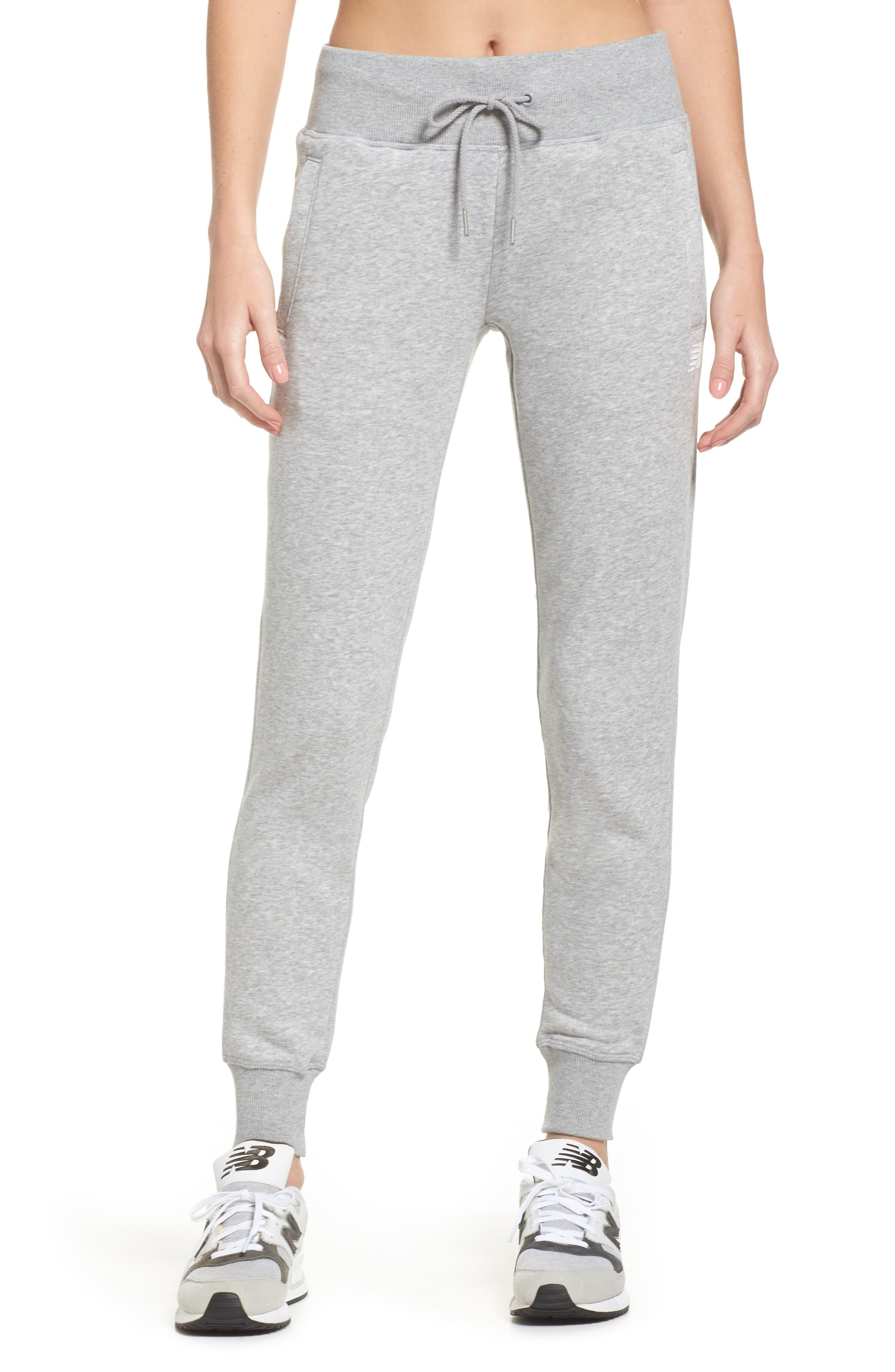 Essentials Sweatpants,                             Main thumbnail 1, color,                             Athletic Grey