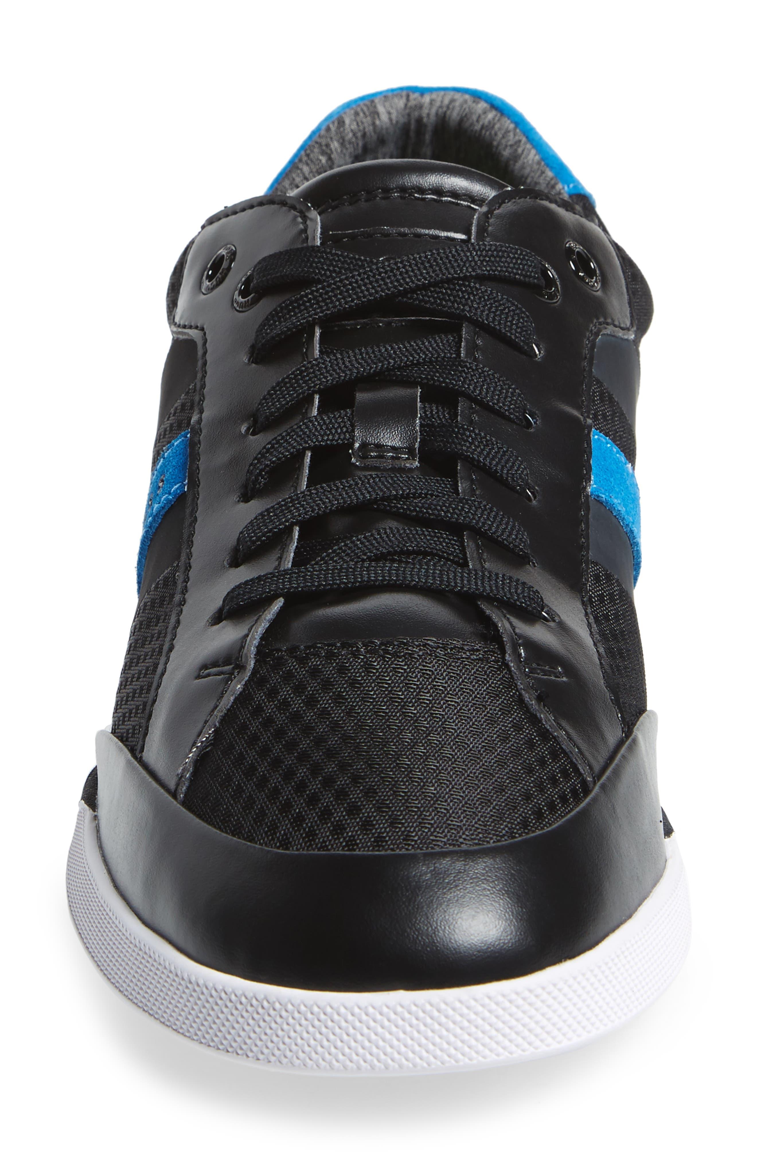 Shuttle Sneaker,                             Alternate thumbnail 4, color,                             Black