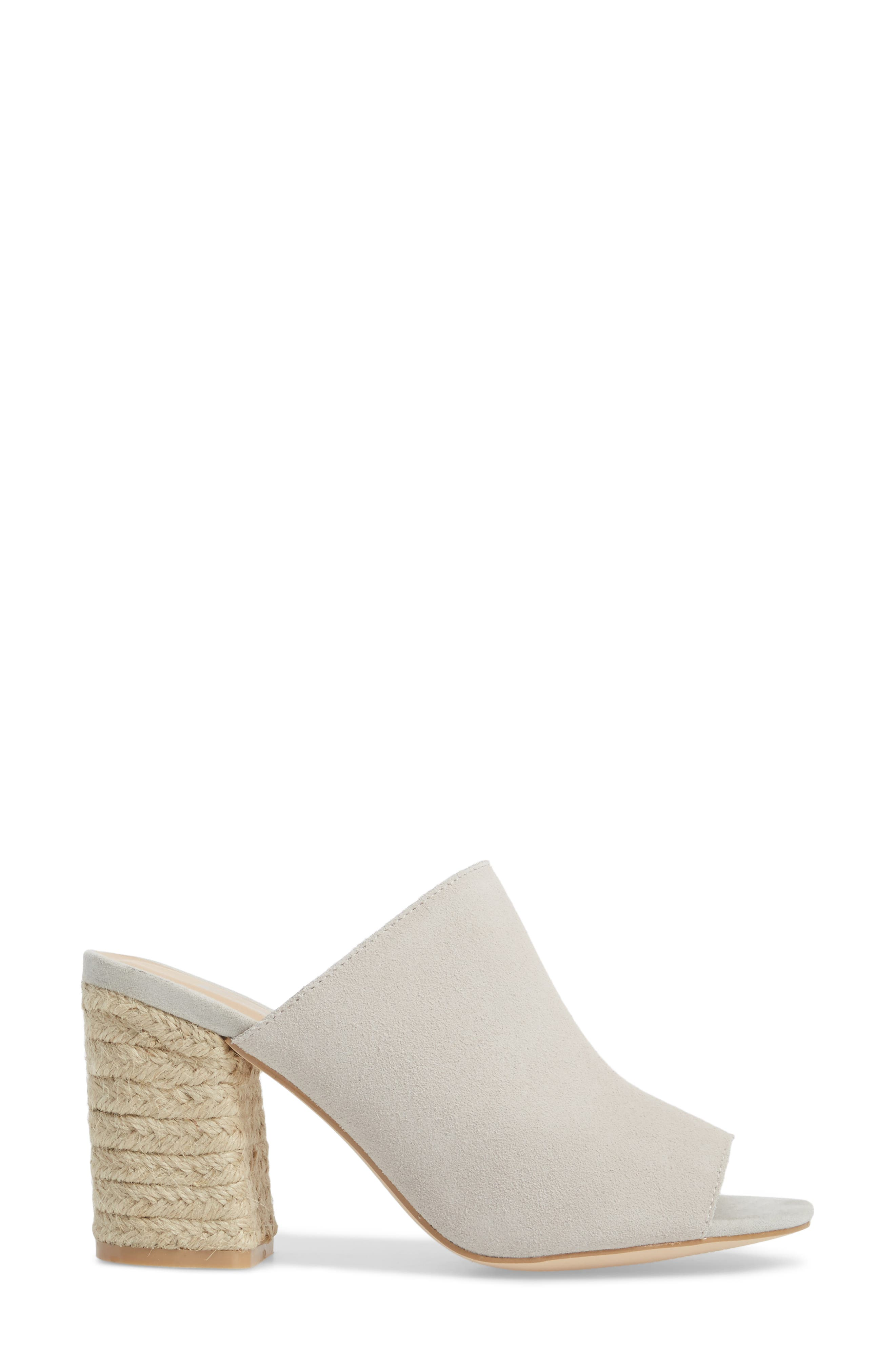 Helena Sandal,                             Alternate thumbnail 3, color,                             Ice Suede/ Leather
