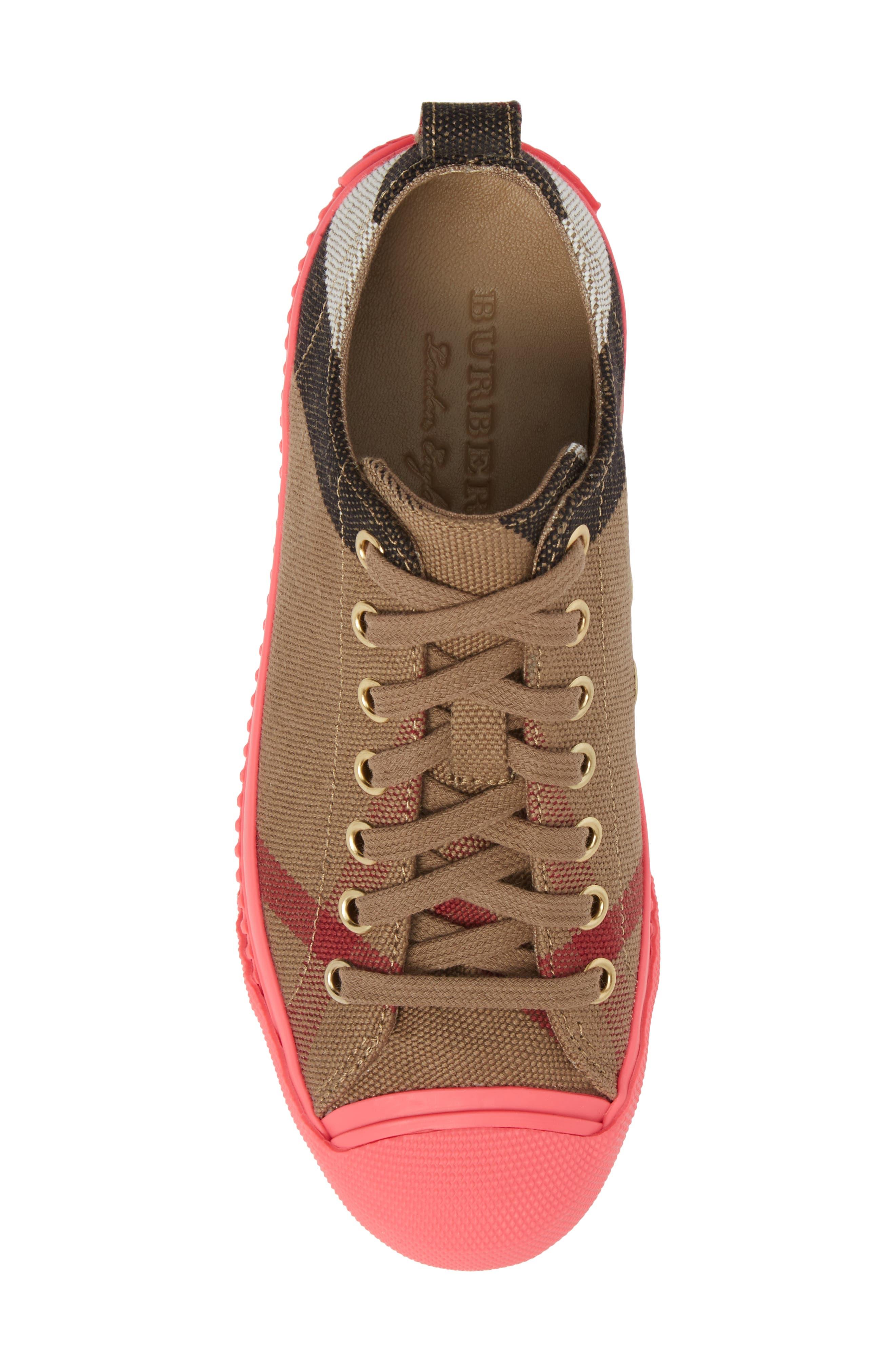Bourne Sneaker,                             Alternate thumbnail 5, color,                             Classic Check