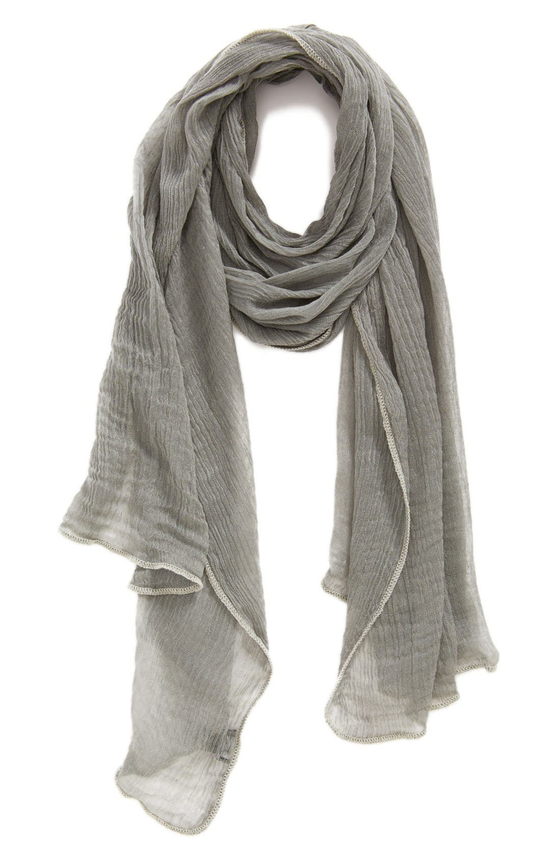 Alternate Image 1 Selected - Roffe Accessories Crinkle Scarf