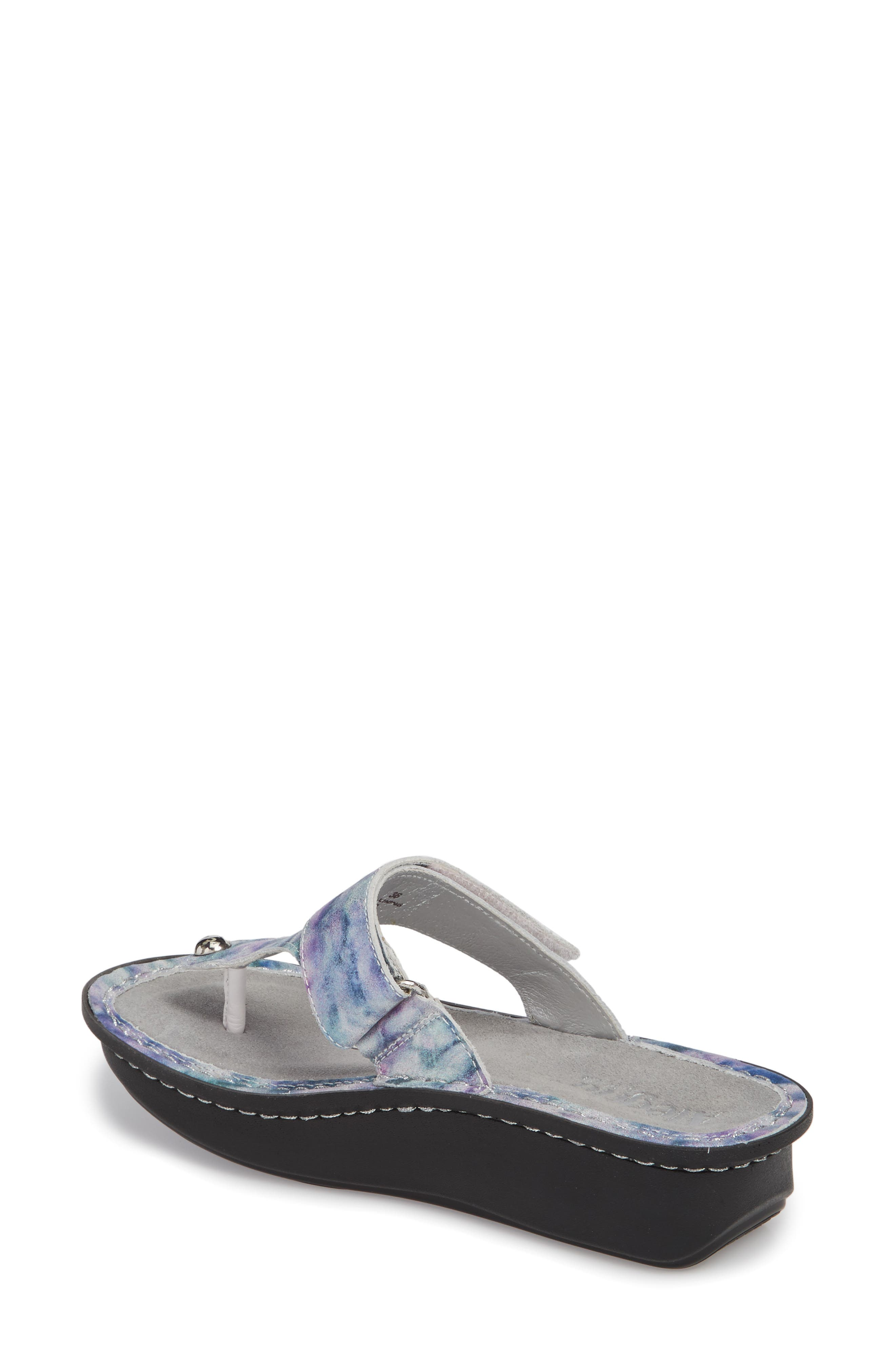 'Carina' Sandal,                             Alternate thumbnail 2, color,                             Mellow Out Leather