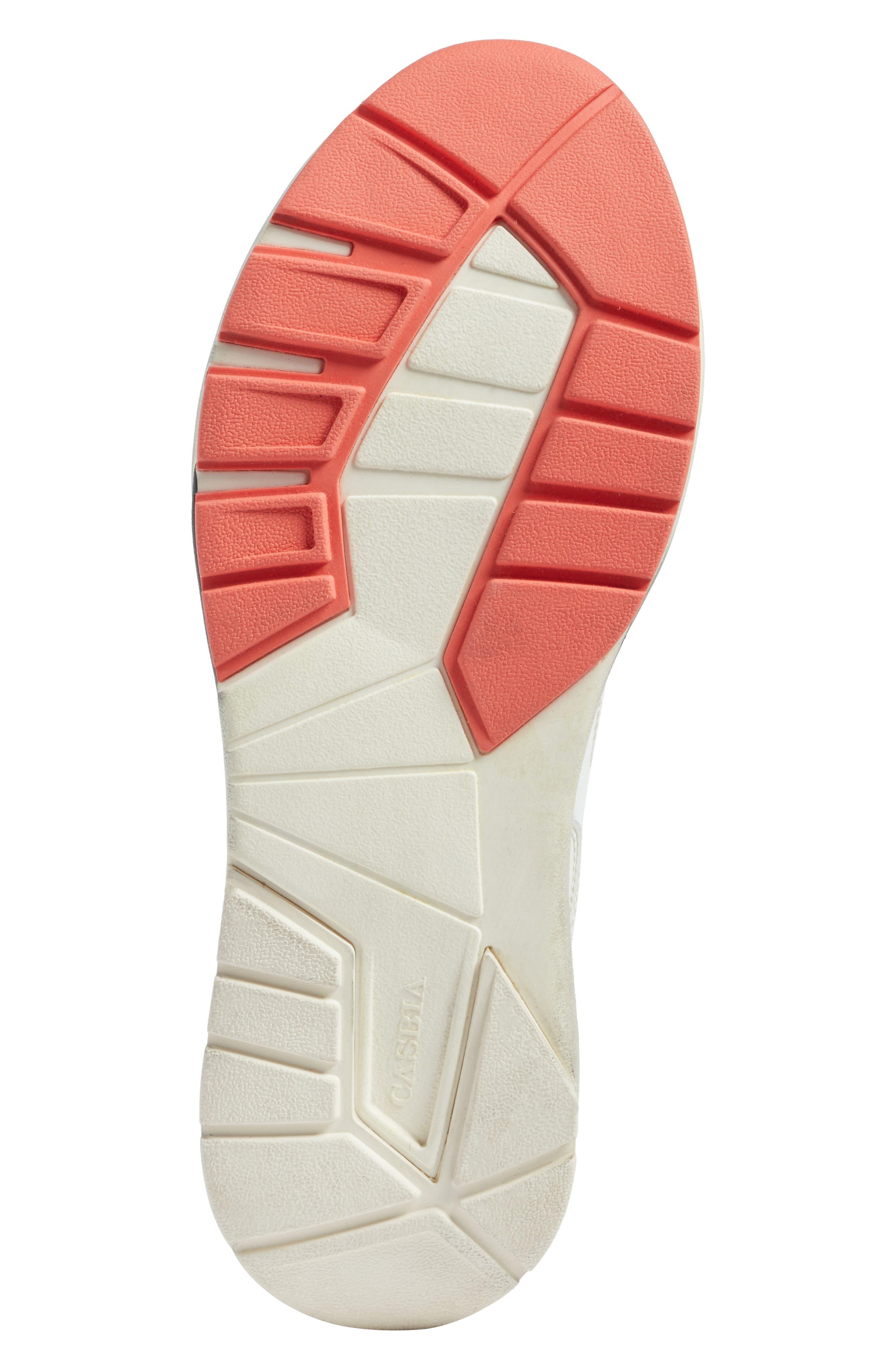 Champion Veloce ATL Sneaker,                             Alternate thumbnail 6, color,                             White Leather