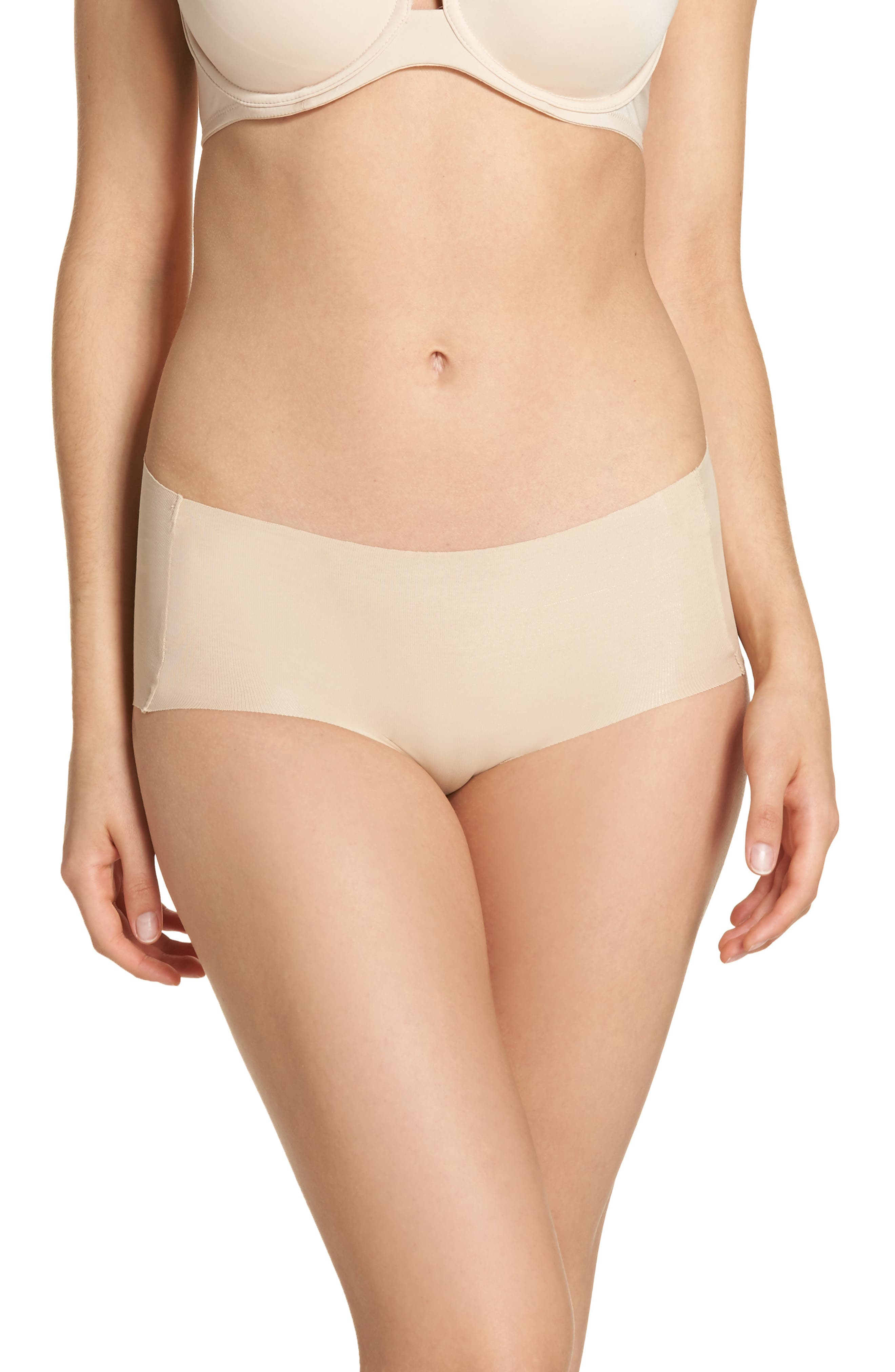 Beyond Naked Hipster Panties,                         Main,                         color, Sand