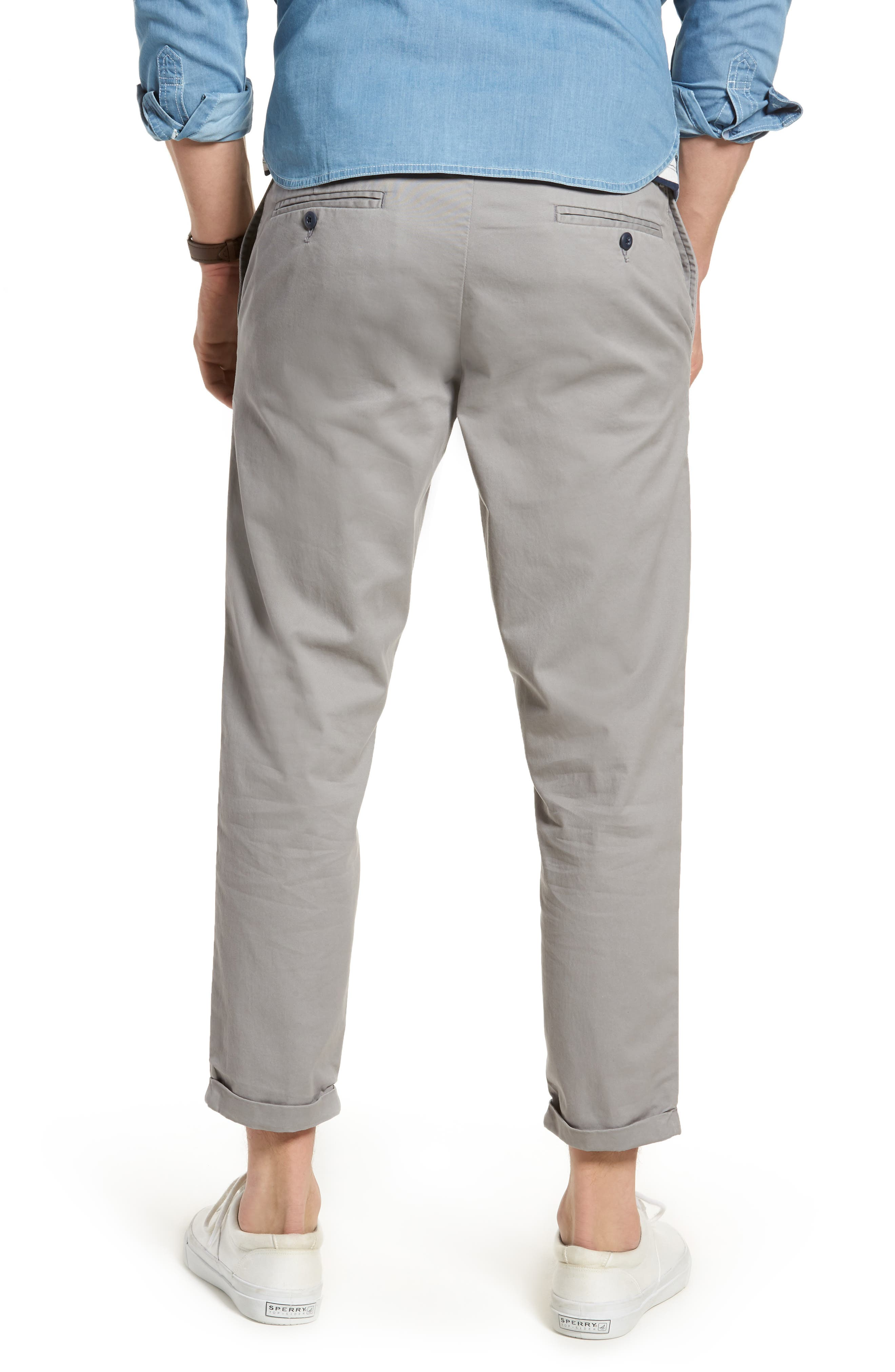 Alternate Image 2  - 1901 Crop Chino Pants