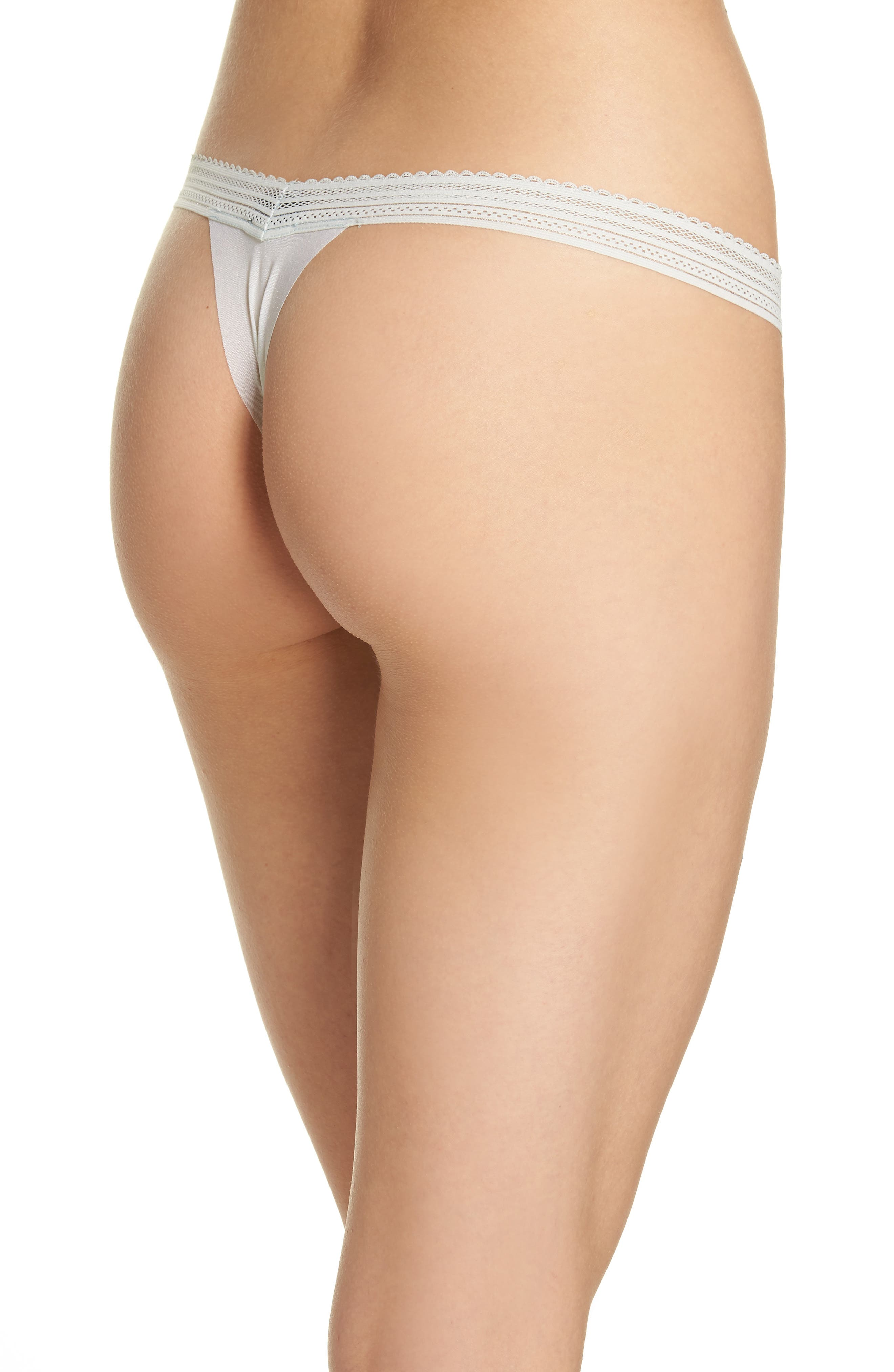 Laced In Aire Thong,                             Alternate thumbnail 2, color,                             Desert Sage