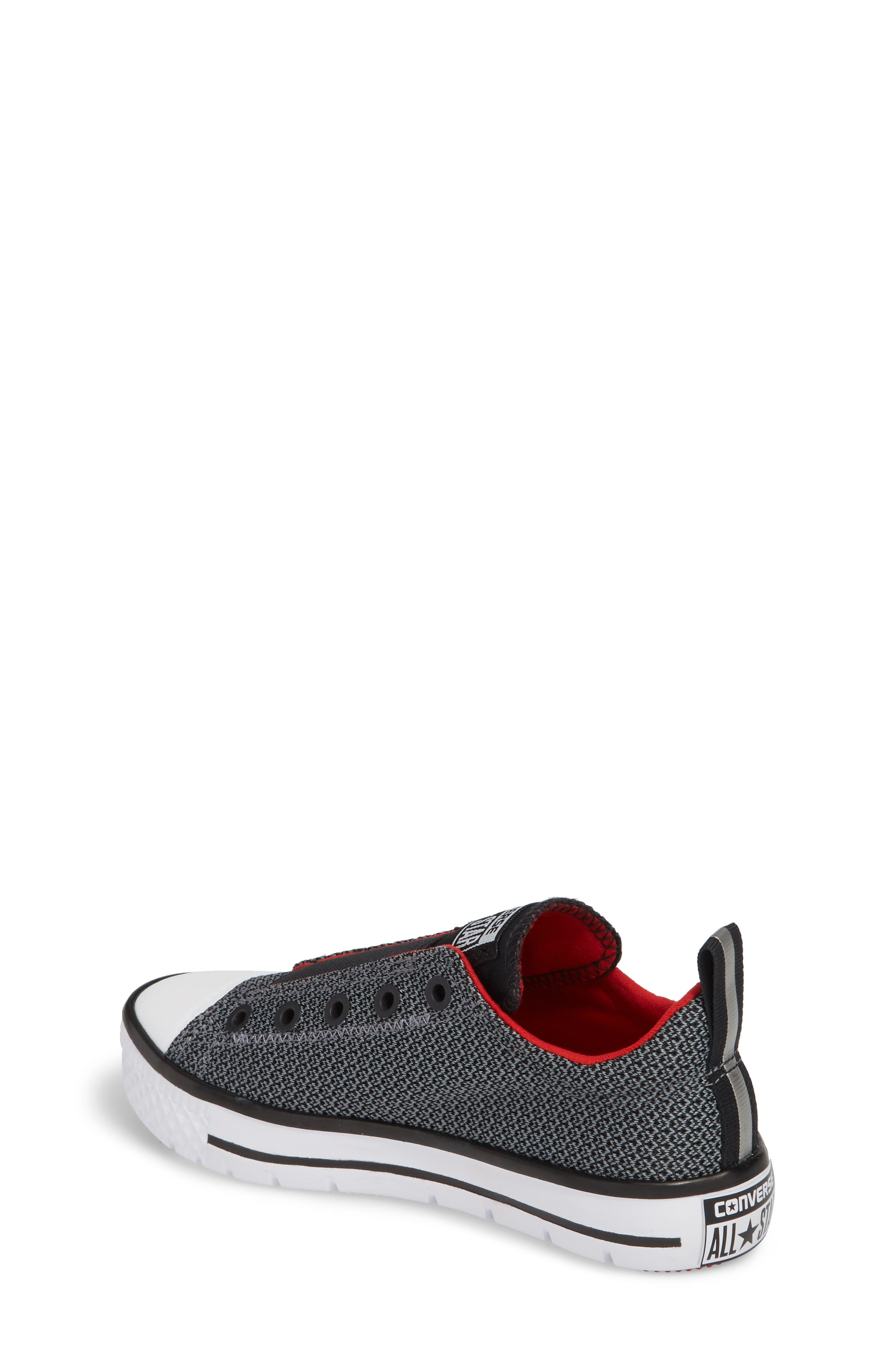 Chuck Taylor<sup>®</sup> All Star<sup>®</sup> Hyper Lite Ox Slip-On Sneaker,                             Alternate thumbnail 2, color,                             Cool Grey