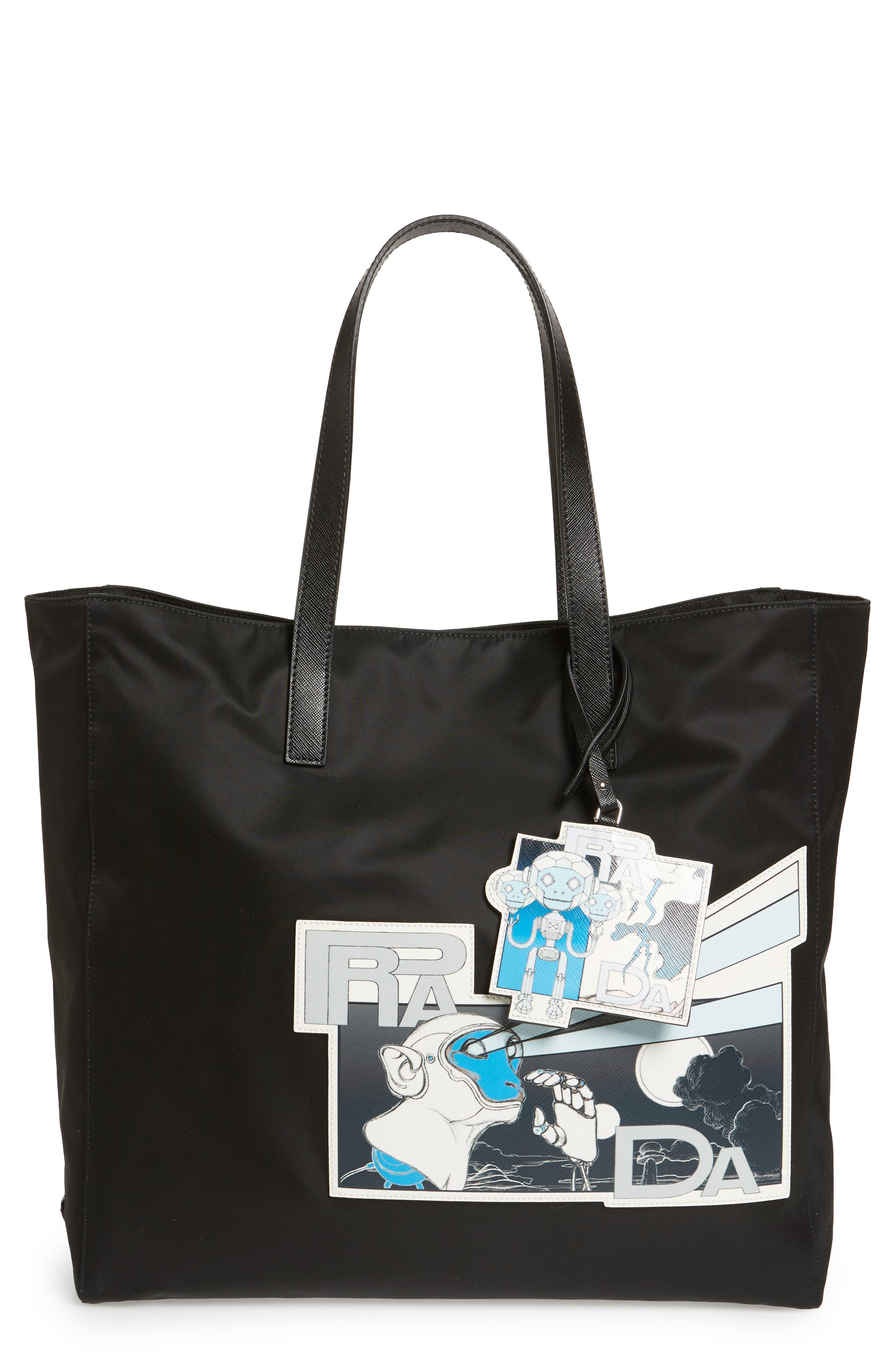 Prada Comic Tote Bag
