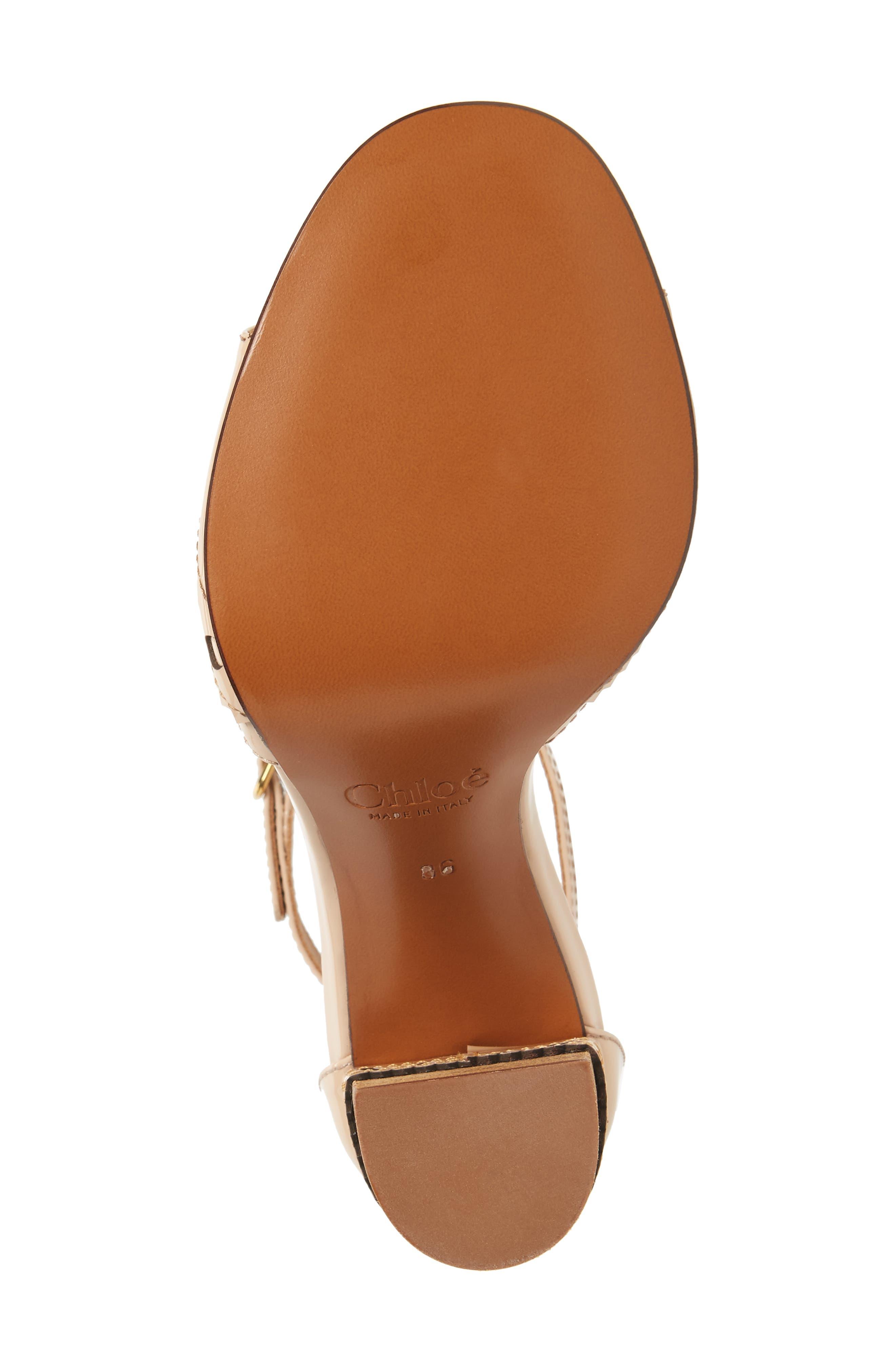 Perry T-Strap Sandal,                             Alternate thumbnail 6, color,                             Mild Beige