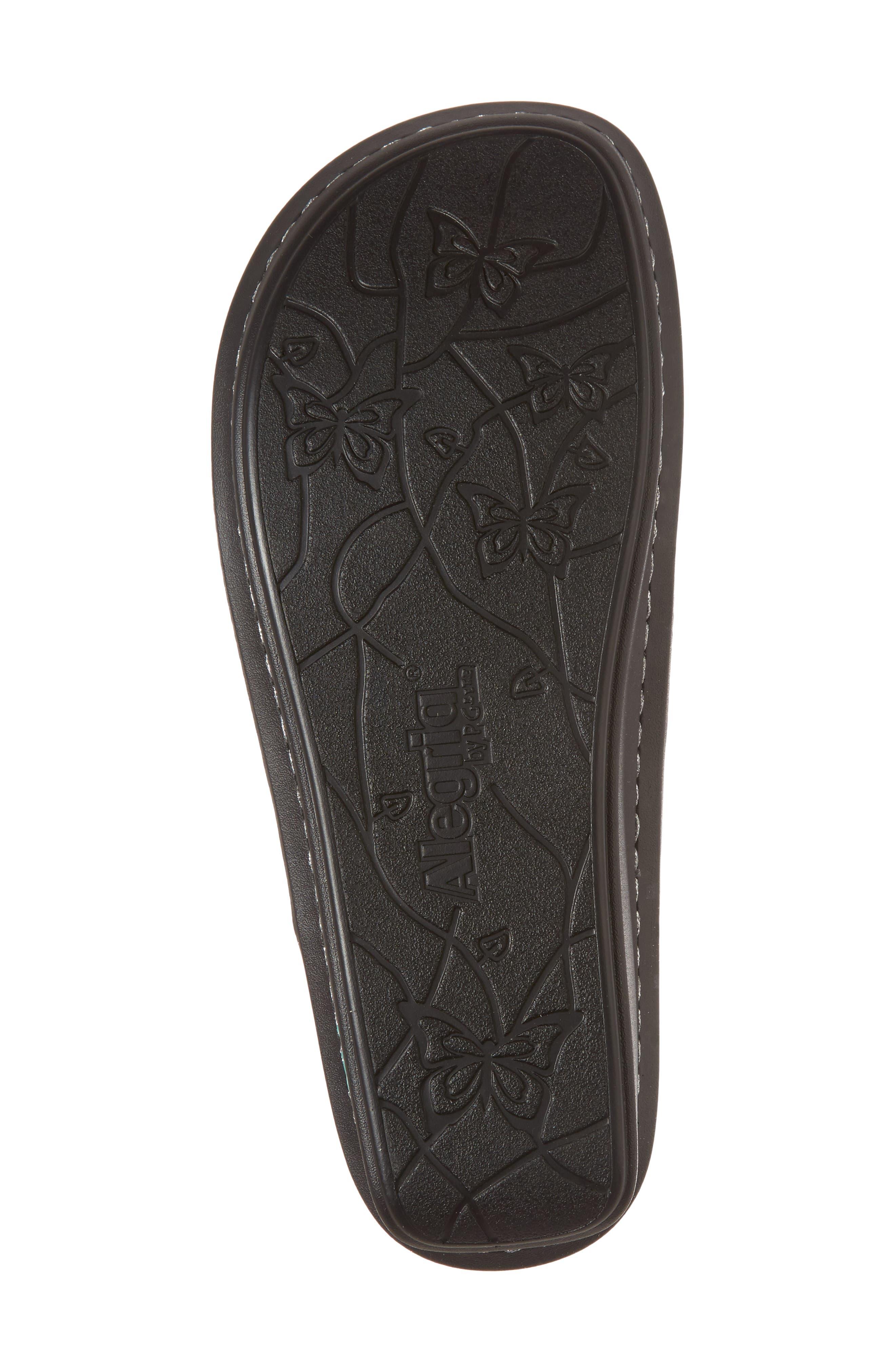 'Vanessa' Thong Sandal,                             Alternate thumbnail 6, color,                             Aqua Love Leather