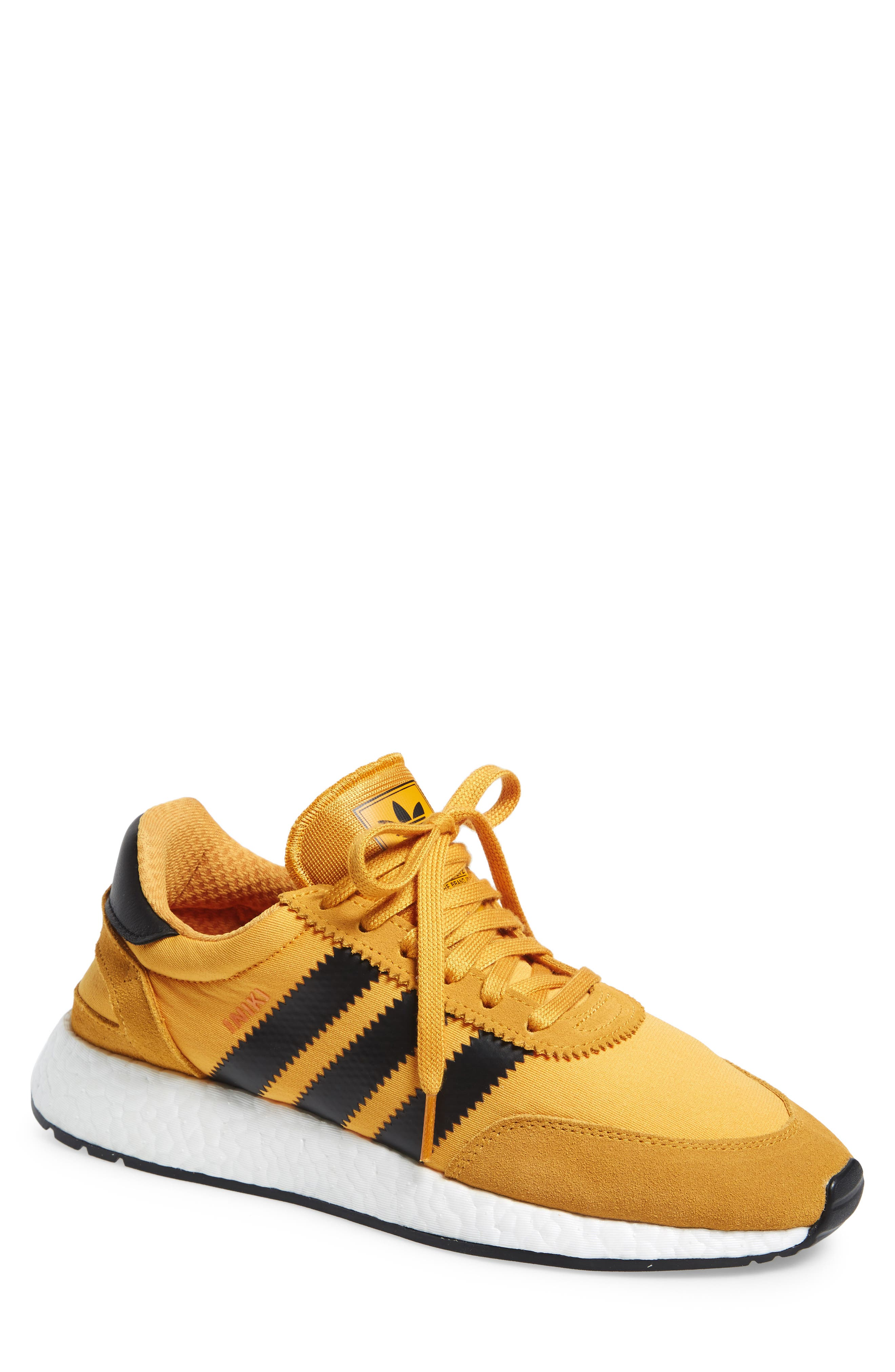 I-5923 Sneaker,                         Main,                         color, Tactile Yellow/ Black/ White