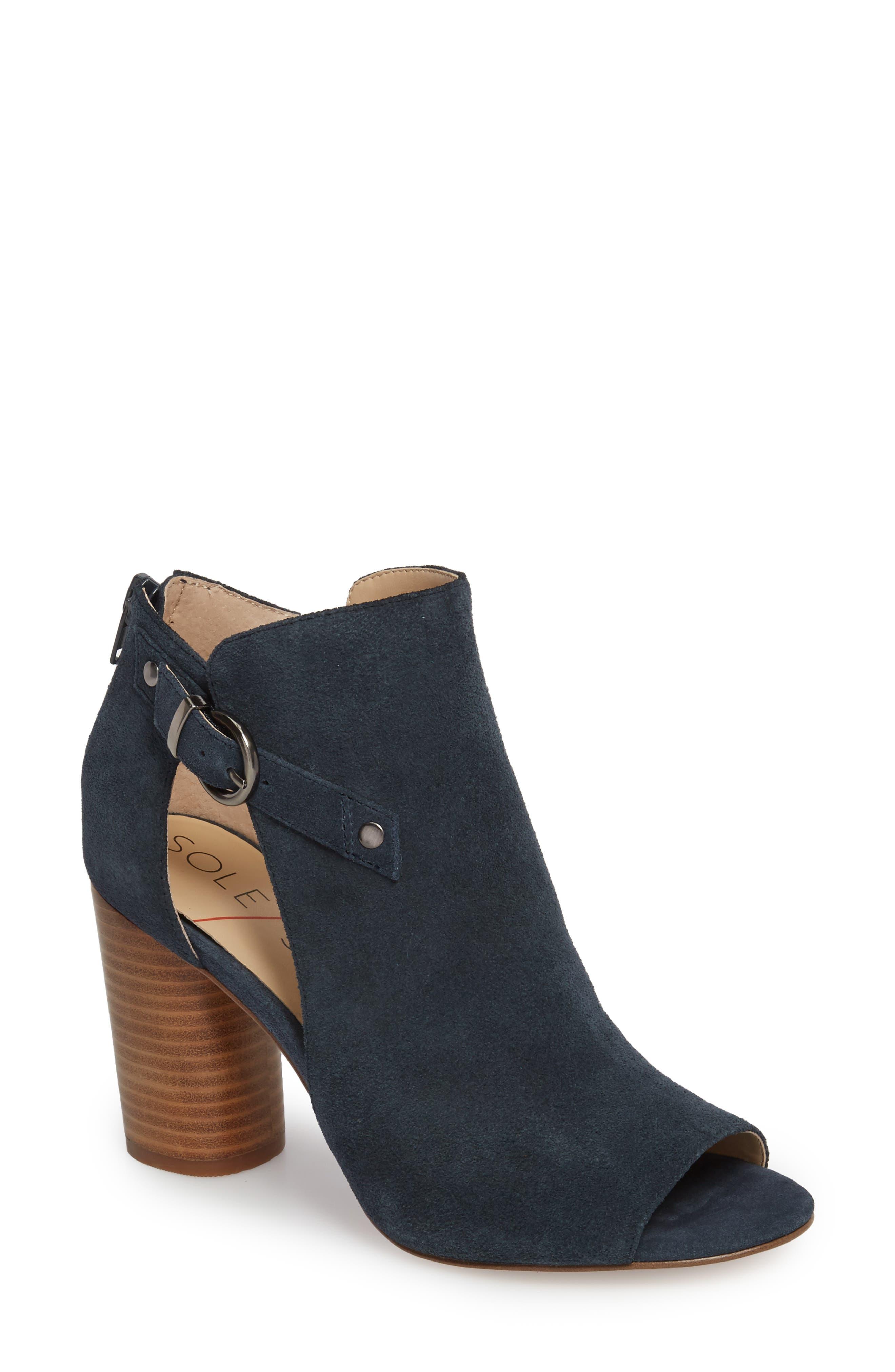 Sole Society Sally Column Heel Sandal (Women)