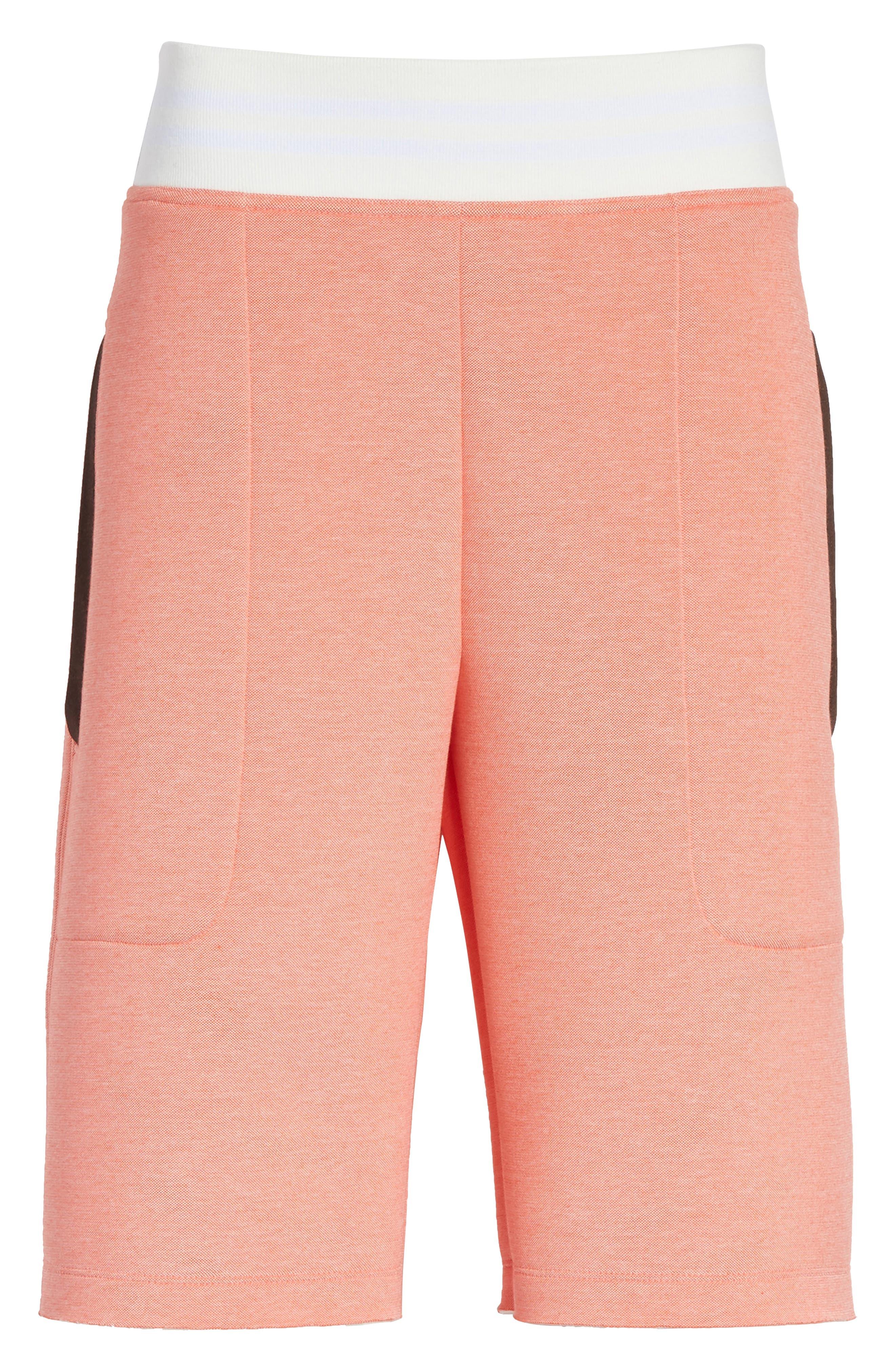 Tech Shorts,                             Alternate thumbnail 7, color,                             Coral