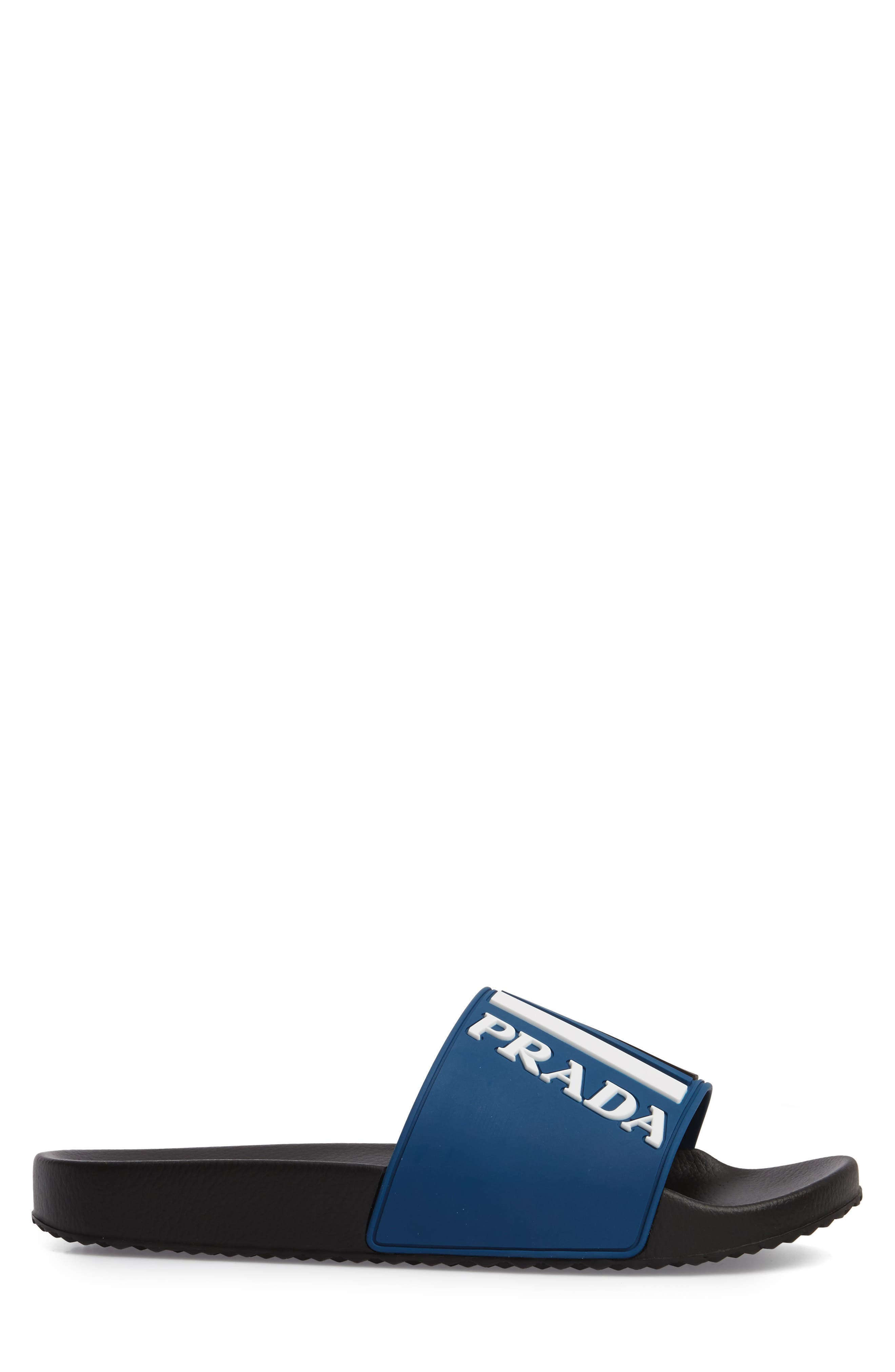 Alternate Image 3  - Prada Linea Rossa Logo Slide Sandal (Men)