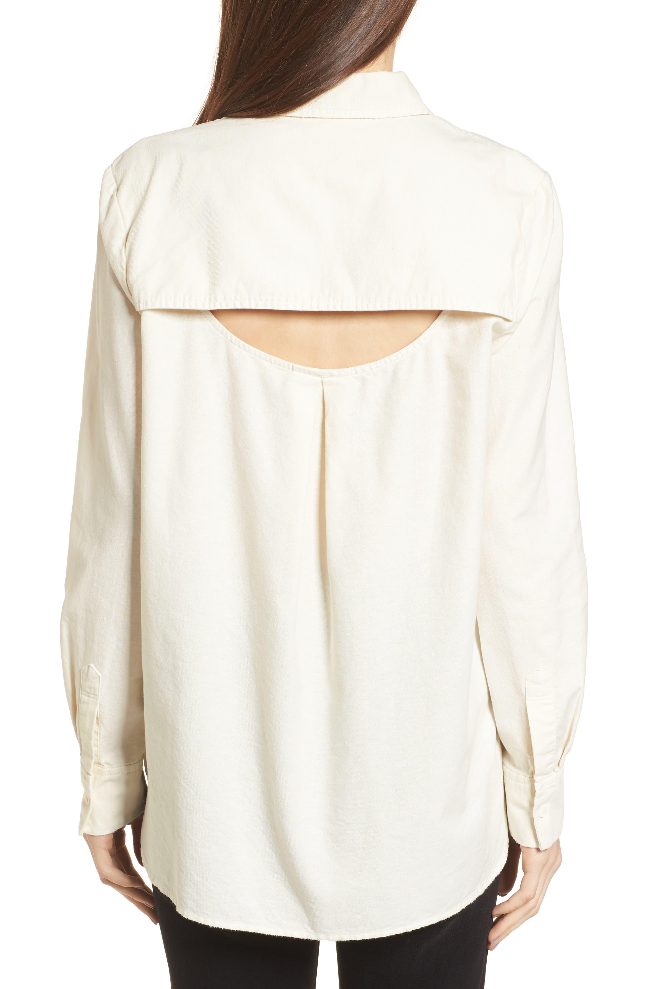 Shana Woven Shirt,                             Alternate thumbnail 2, color,                             Sunbaked Misty Morning
