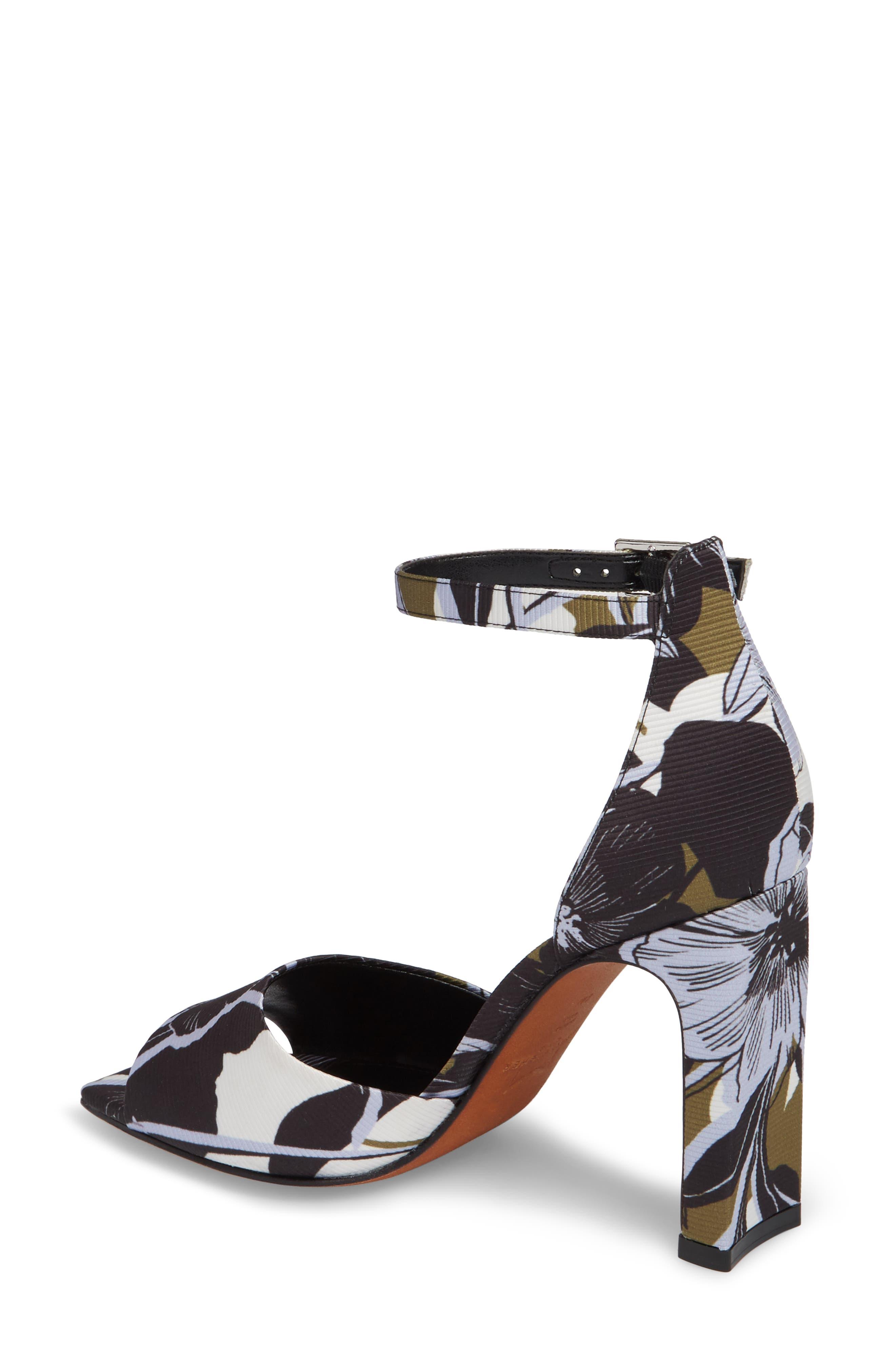 Harlin Ankle Strap Sandal,                             Alternate thumbnail 2, color,                             Jungle Print Fabric