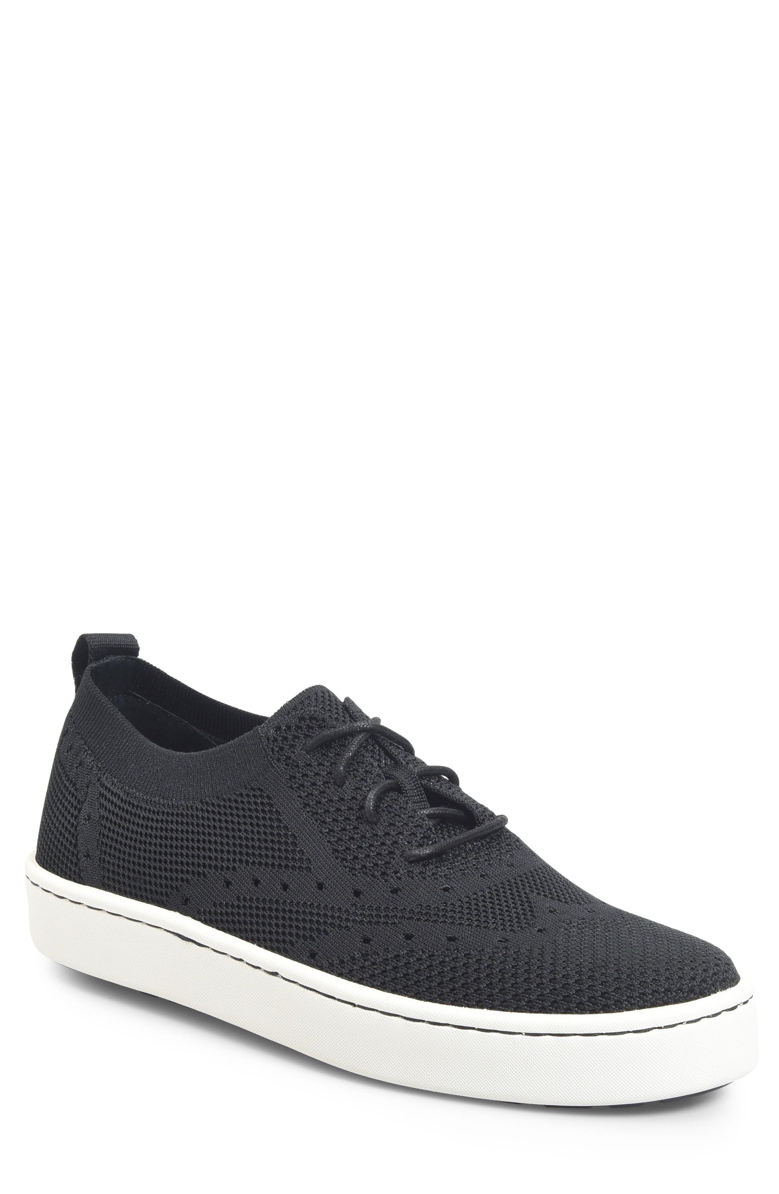 Bearse Sneaker,                             Main thumbnail 1, color,                             Black Knit