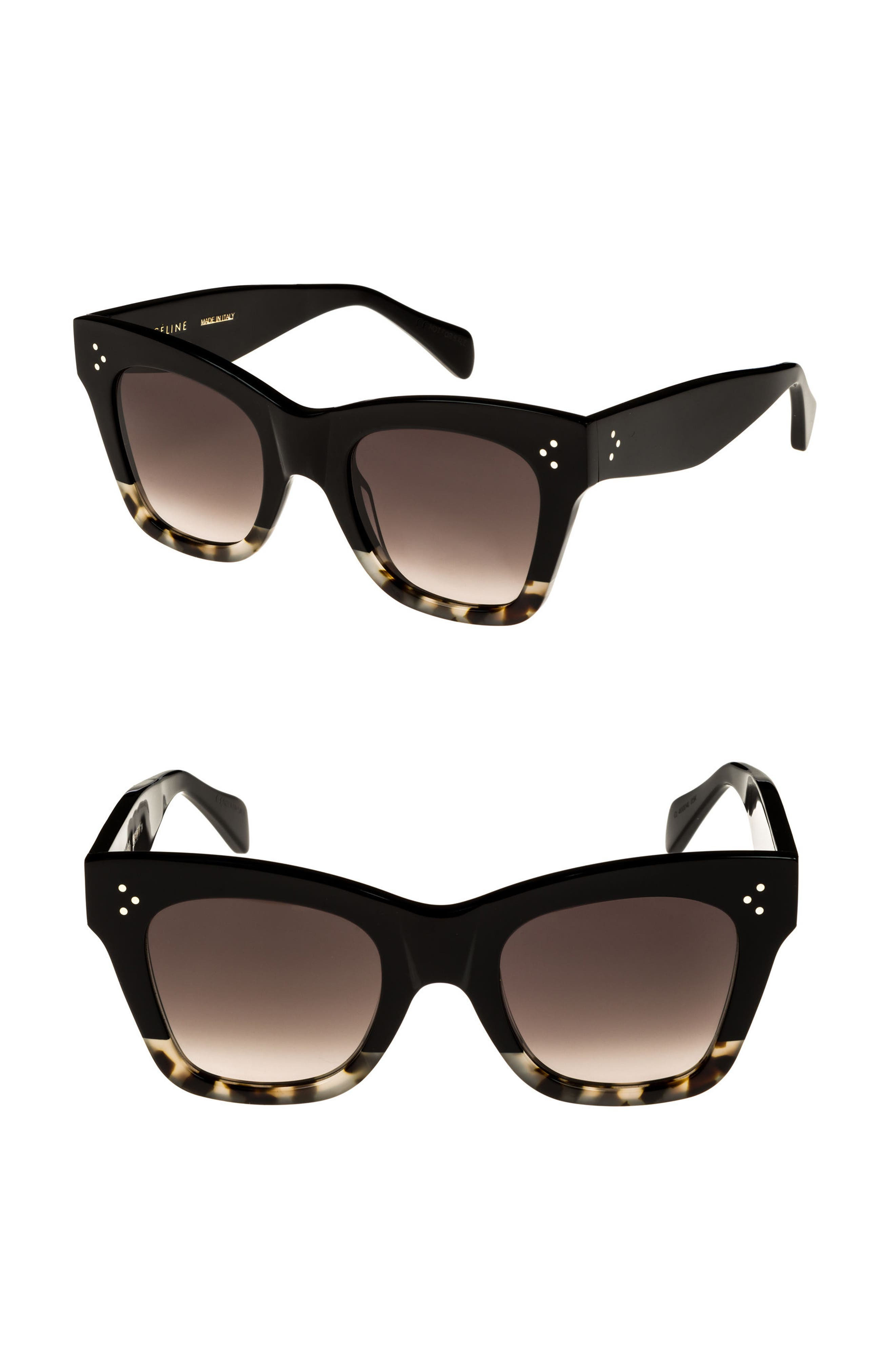 Céline 50mm Gradient Butterfly Sunglasses