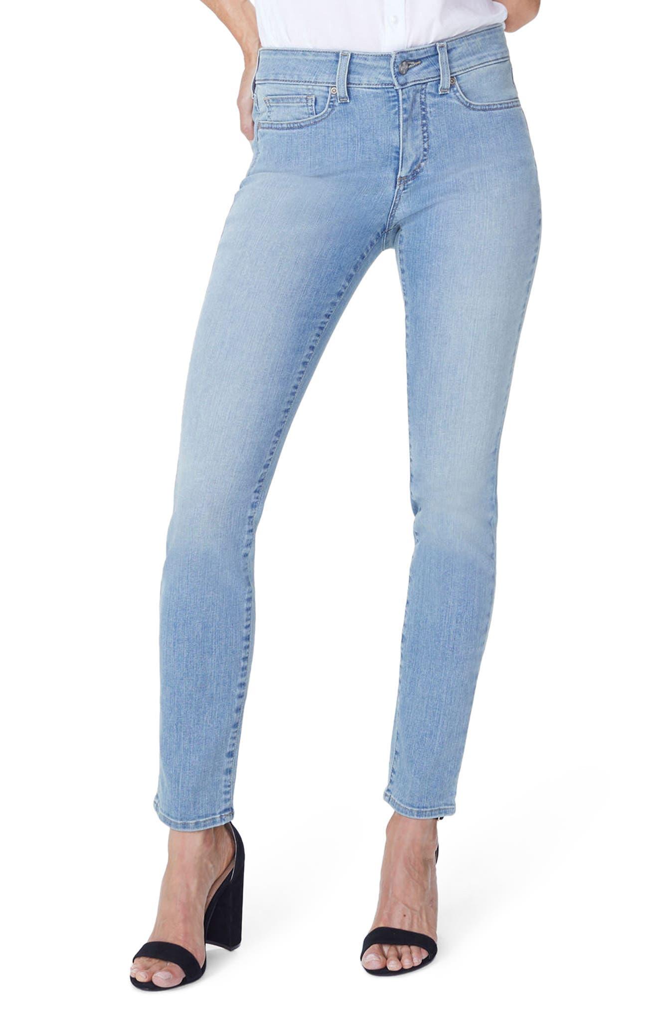 NYDJ Alina Stretch Skinny Jeans