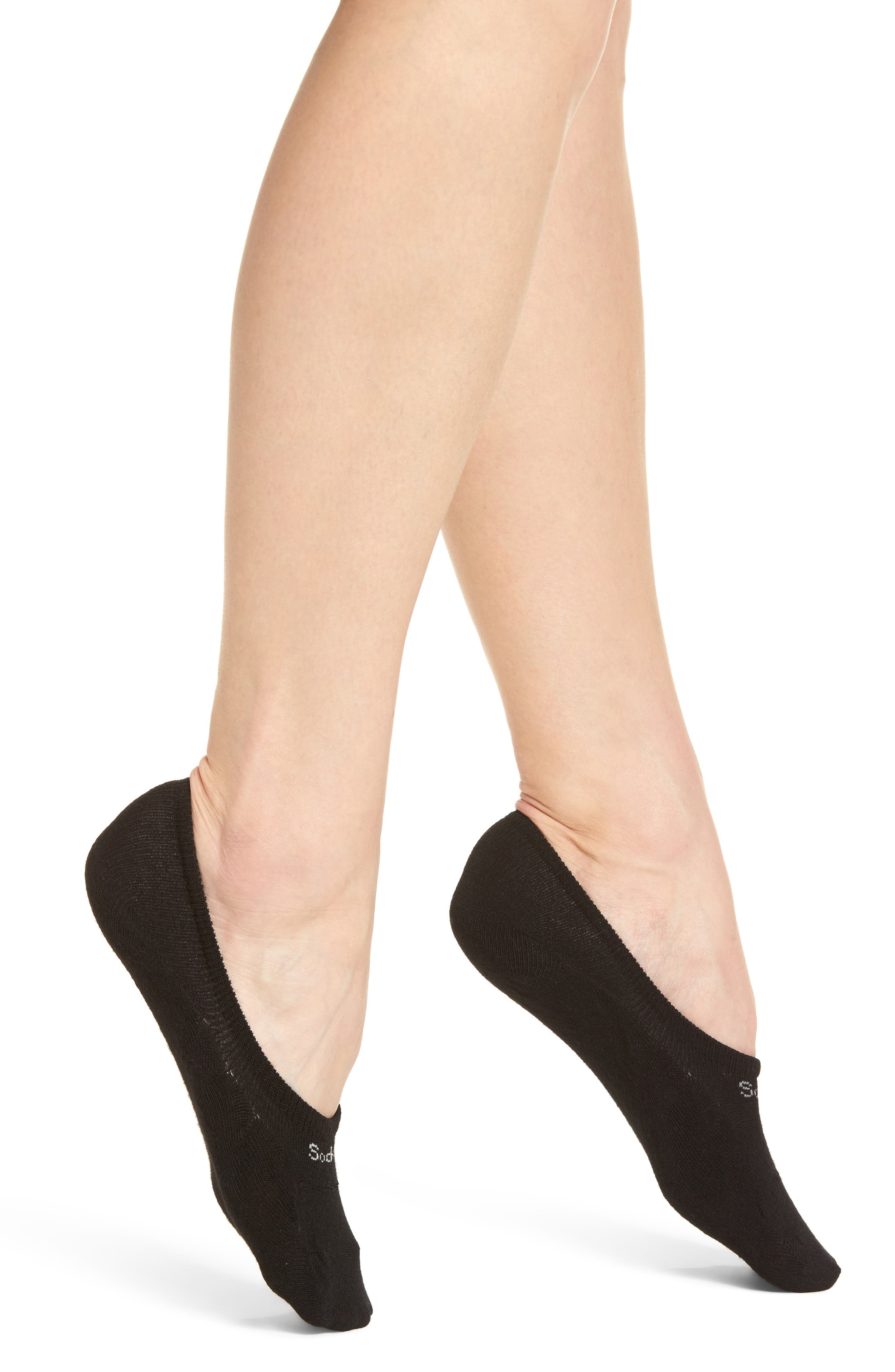 Undercover Liner Socks,                         Main,                         color, Black