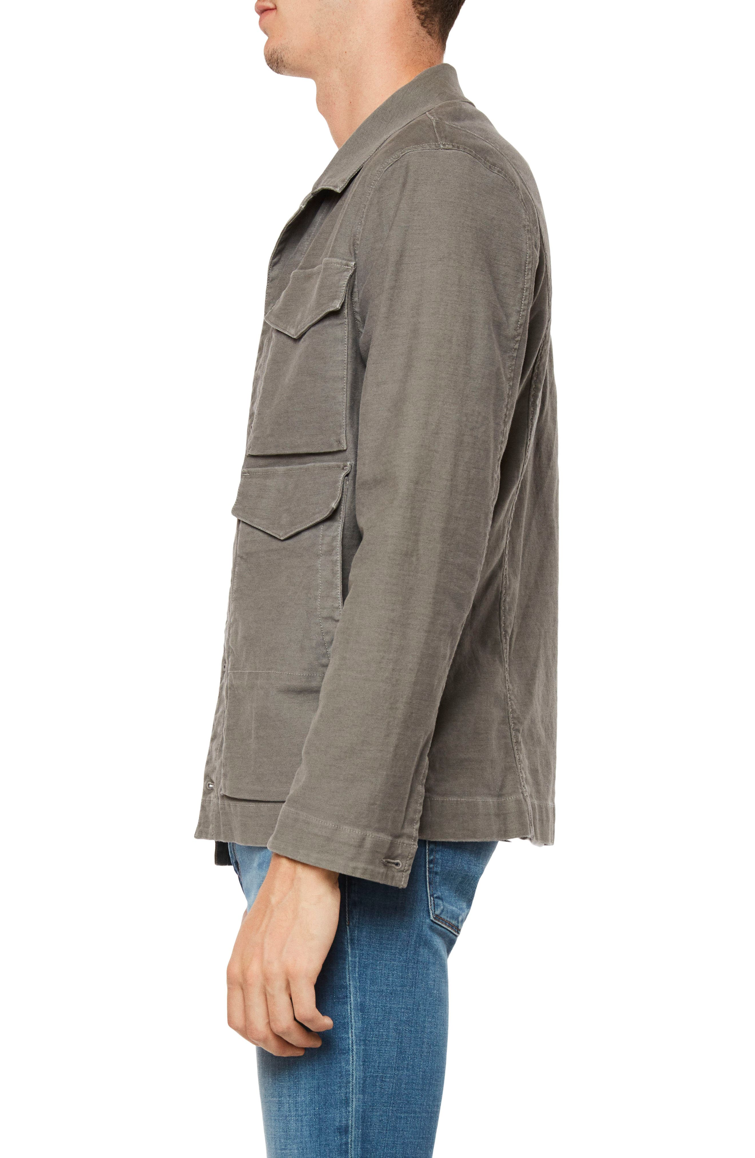 Kraeton Jacket,                             Alternate thumbnail 3, color,                             Dull Sculpit