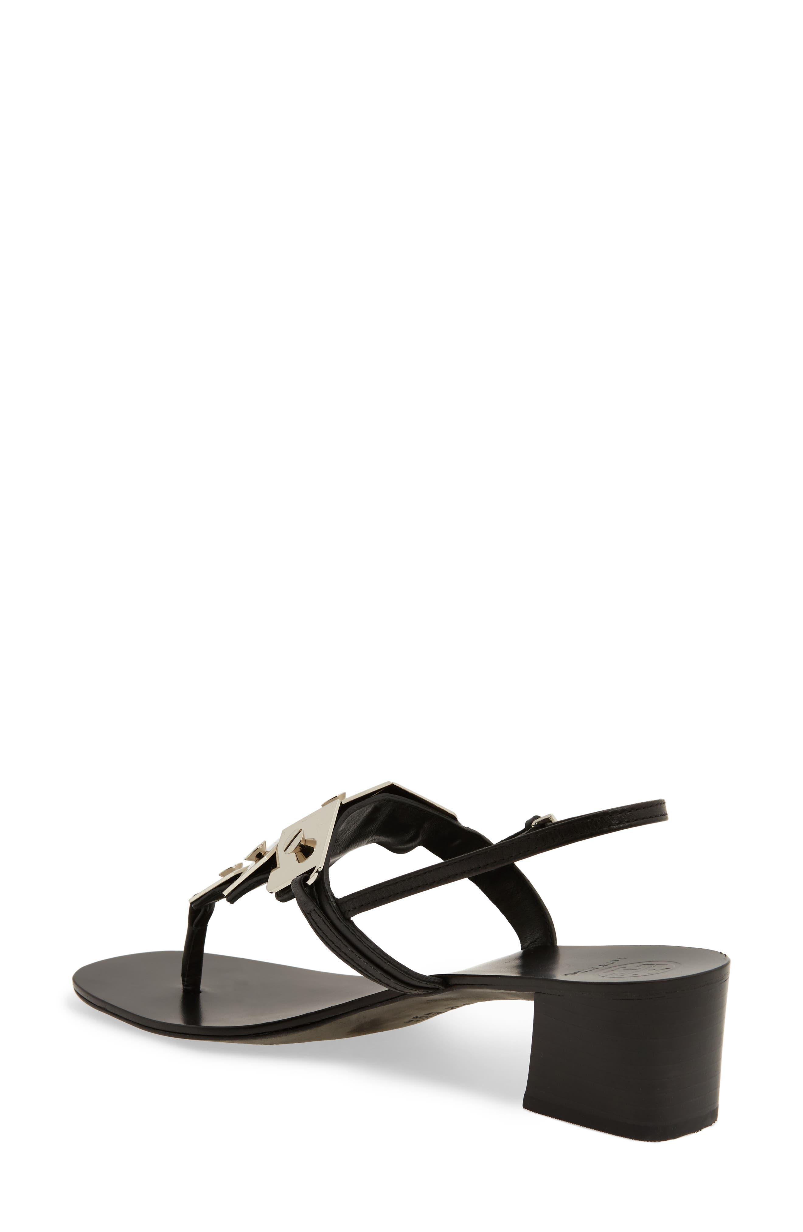 Thompson Sandal,                             Alternate thumbnail 2, color,                             Perfect Black