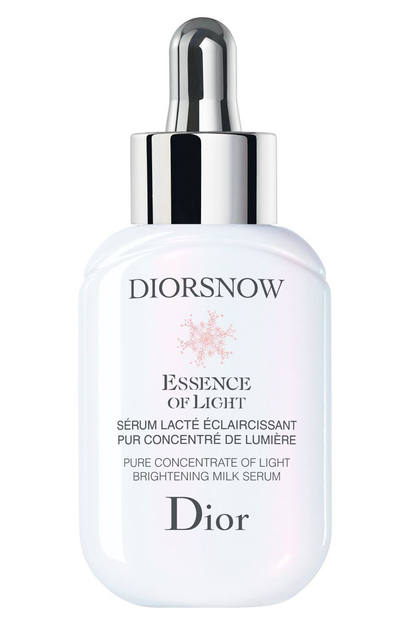 Diorsnow Essence of Light Brightening Milk Serum,                             Main thumbnail 1, color,                             No Color