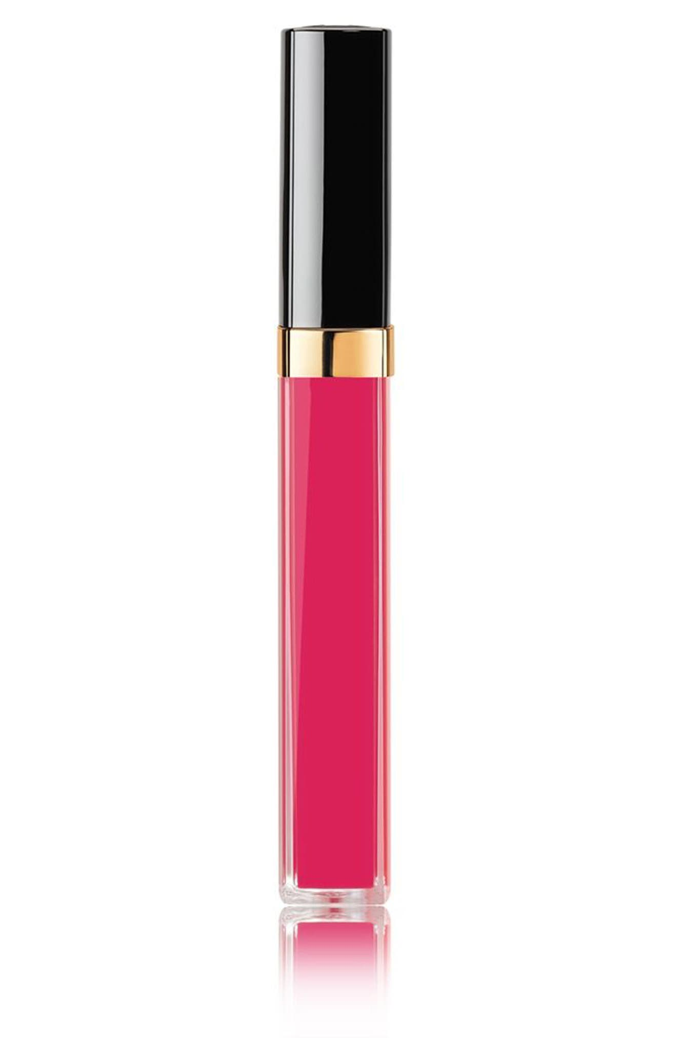 ROUGE COCO GLOSS<br />Moisturizing Glossimer,                             Main thumbnail 1, color,                             806 Rose Tentation