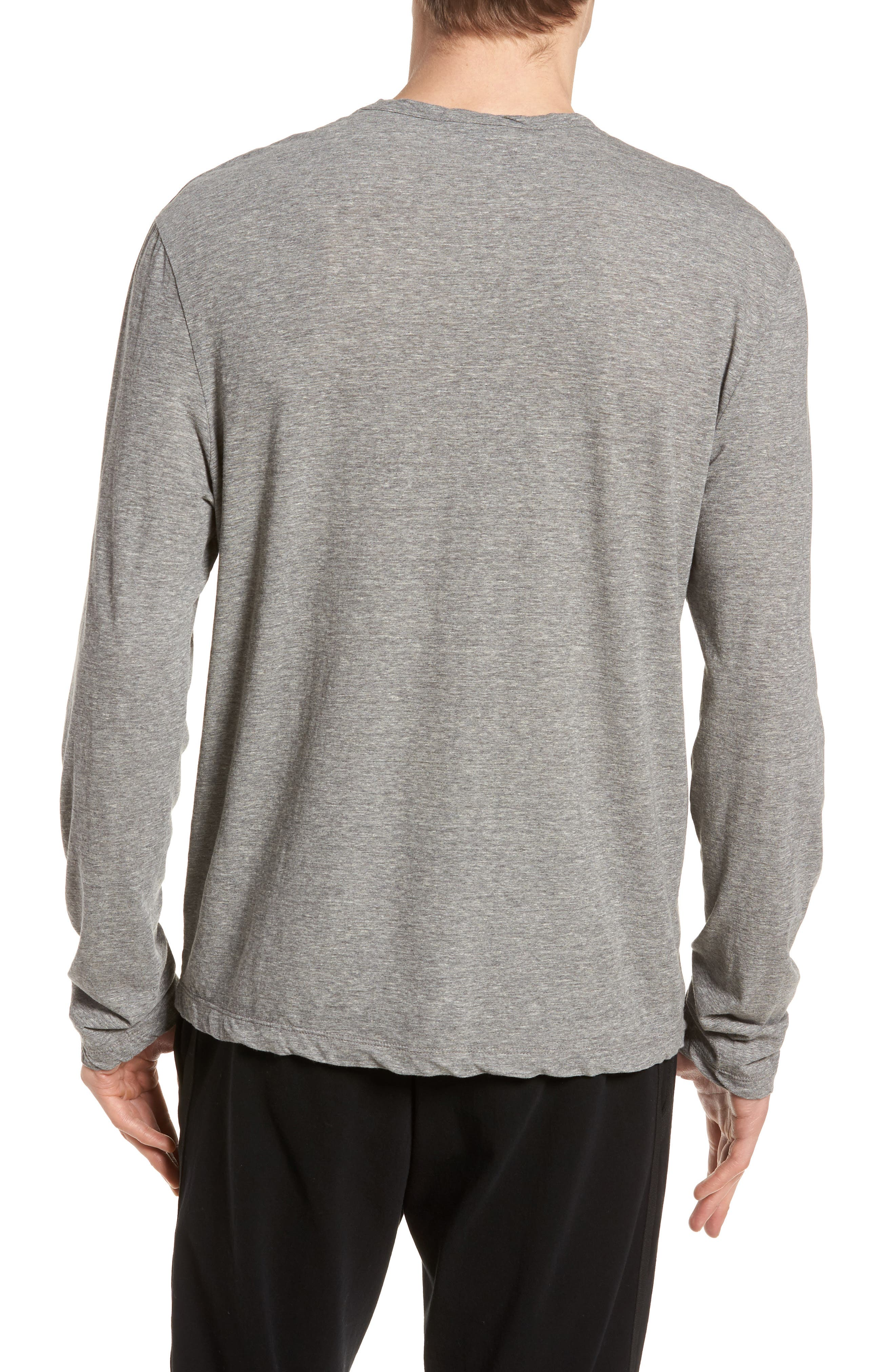 Jamers Perse High Twist Regular Fit Shirt,                             Alternate thumbnail 2, color,                             Heather Grey