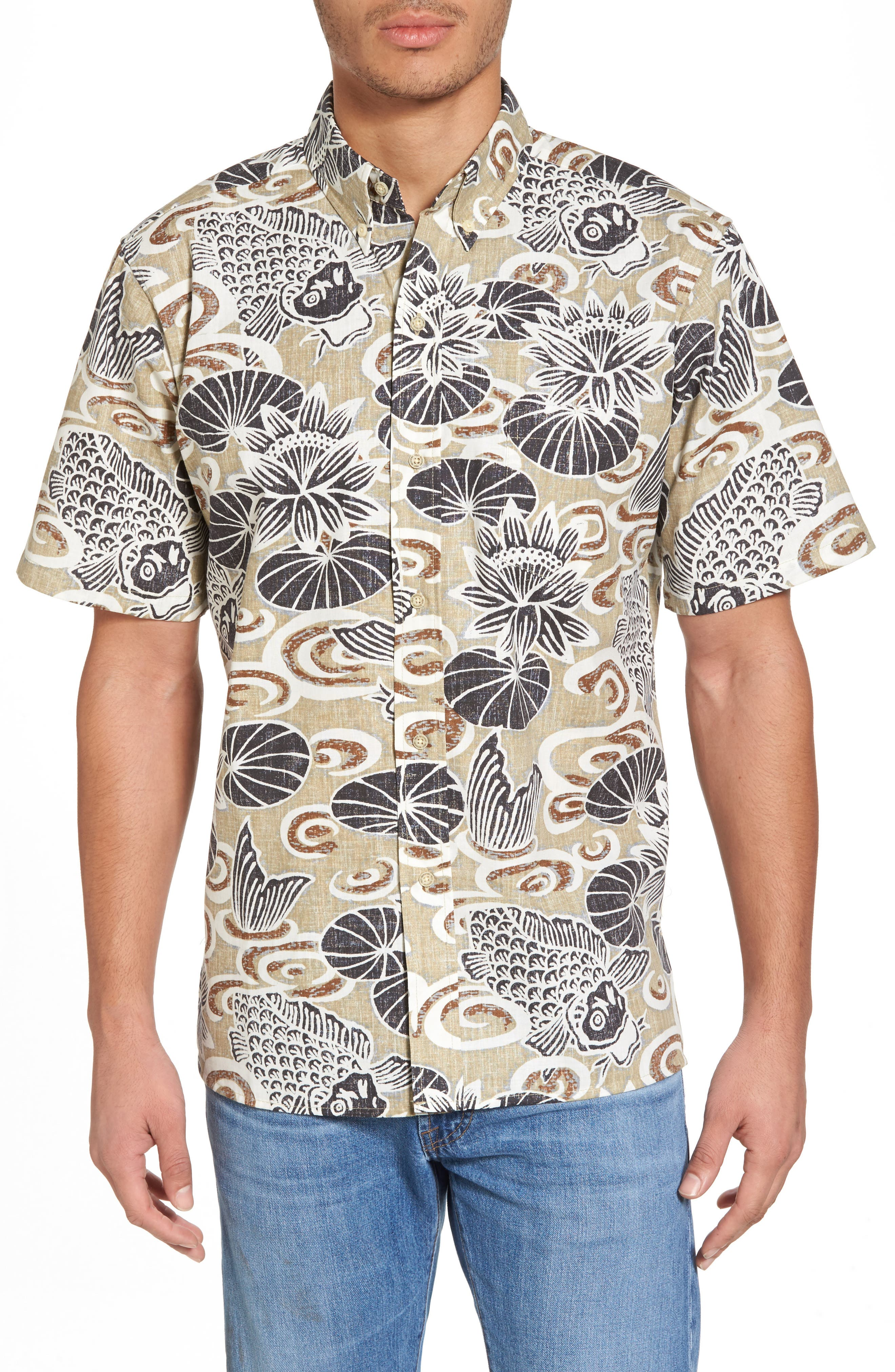 Reyn Spooner Koi Boi Classic Fit Sport Shirt