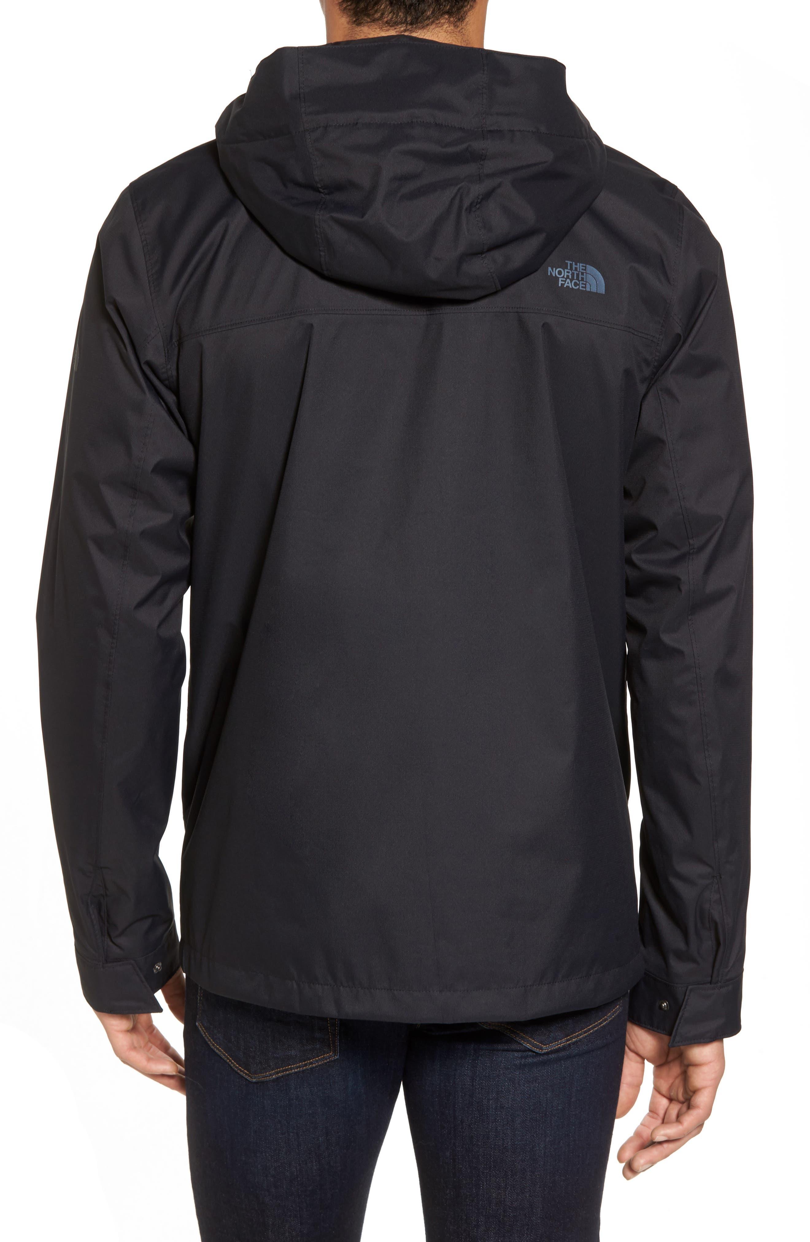 Jenison II Insulated Waterproof Jacket,                             Alternate thumbnail 2, color,                             Tnf Black