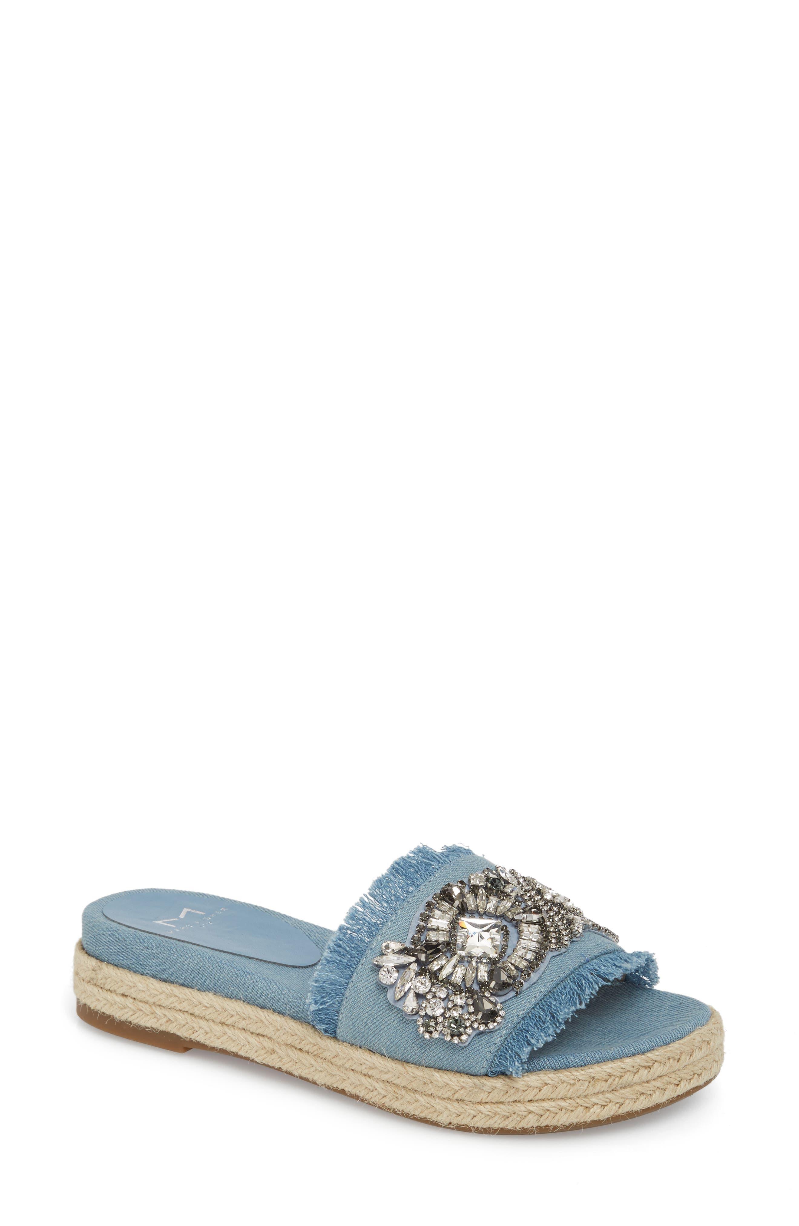Marc Fisher LTD Jelly II Embellished Sandal (Women)