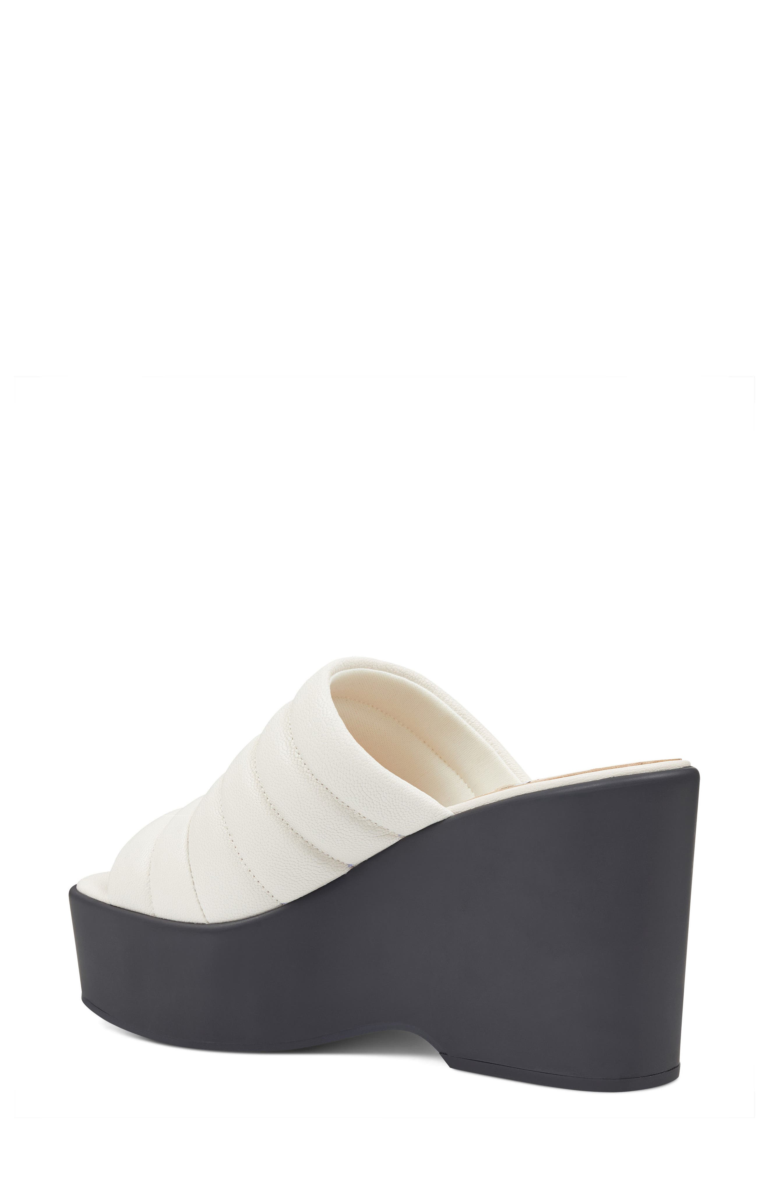 Millie - 40th Anniversary Capsule Collection Platform Wedge,                             Alternate thumbnail 2, color,                             Off White Leather