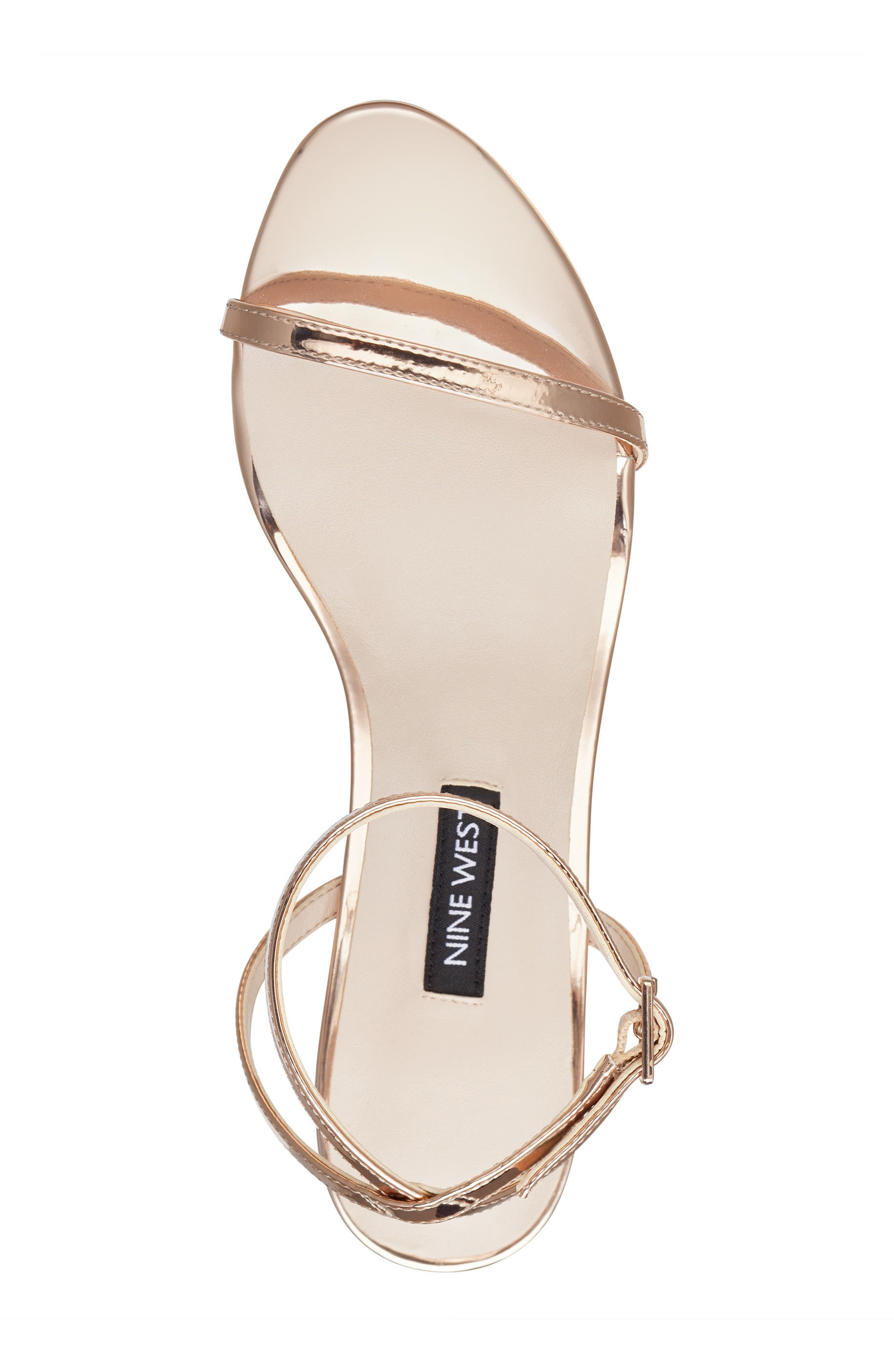 Provein Strappy Sandal,                             Alternate thumbnail 5, color,                             Pink Faux Leather